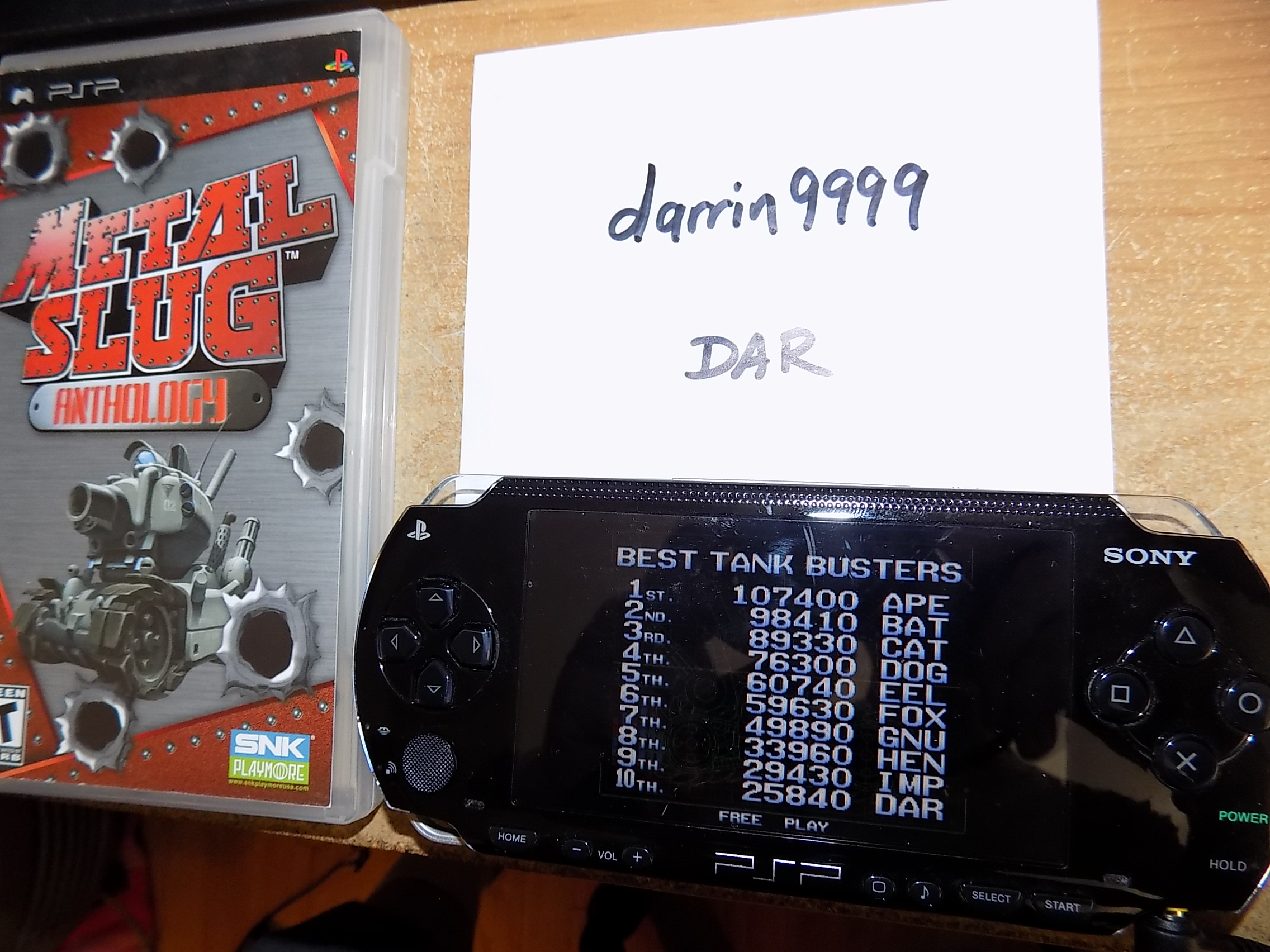 darrin9999: Metal Slug Anthology: Metal Slug 3 (PSP) 25,840 points on 2018-09-14 15:42:21