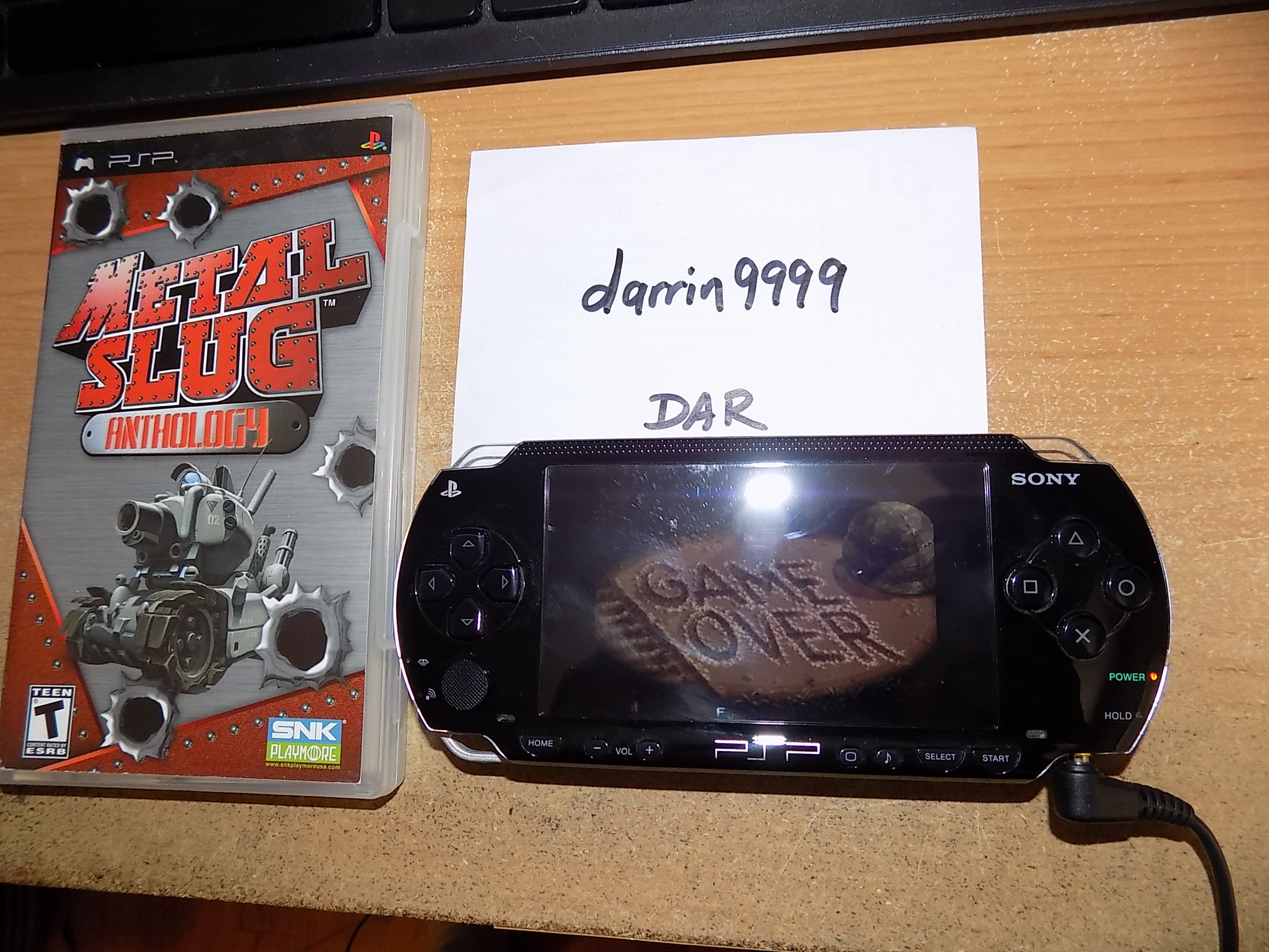 darrin9999: Metal Slug Anthology: Metal Slug 4 (PSP) 25,500 points on 2018-09-14 15:54:11