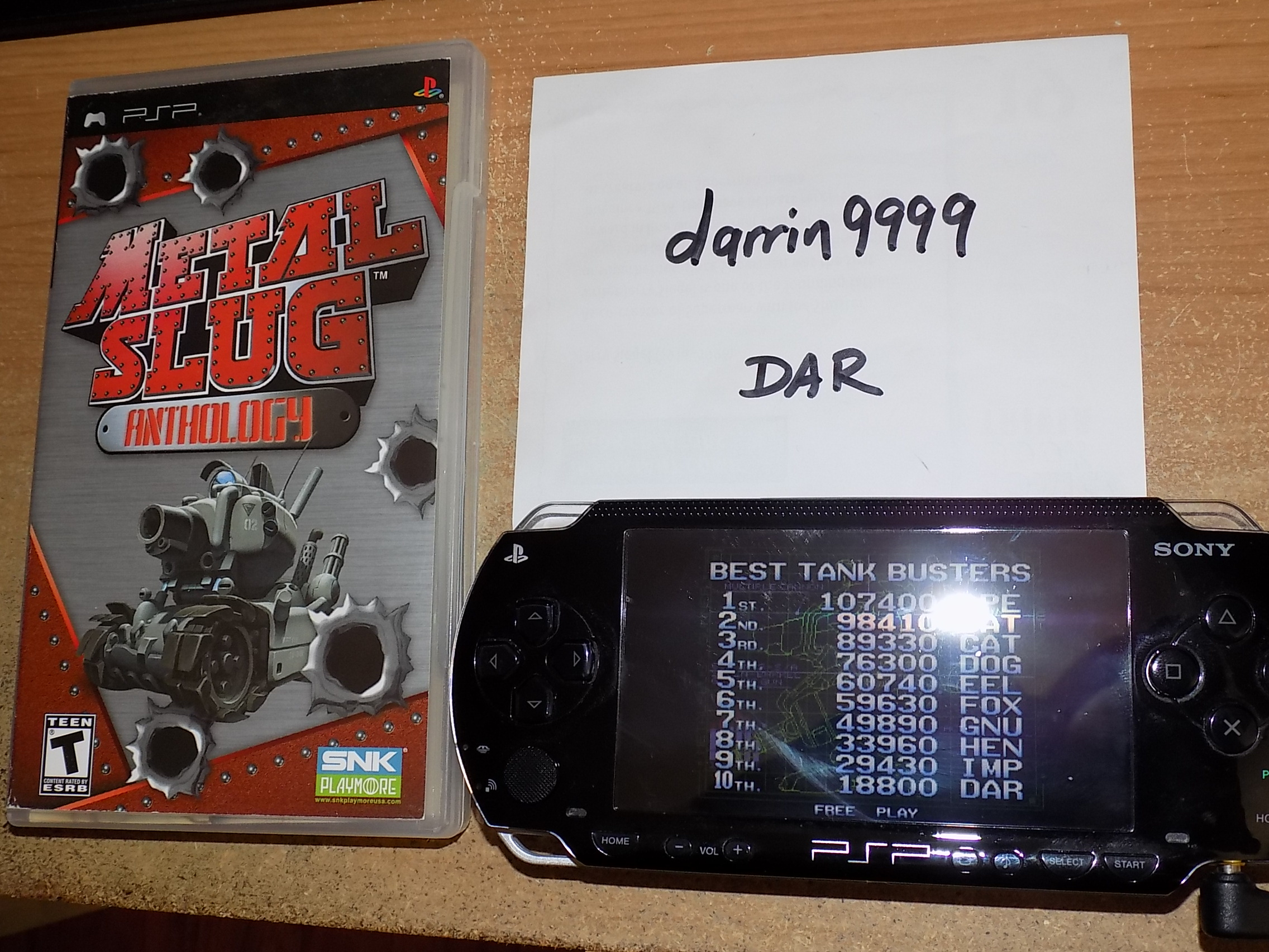 darrin9999: Metal Slug Anthology: Metal Slug 5 (PSP) 18,800 points on 2018-09-14 16:03:28