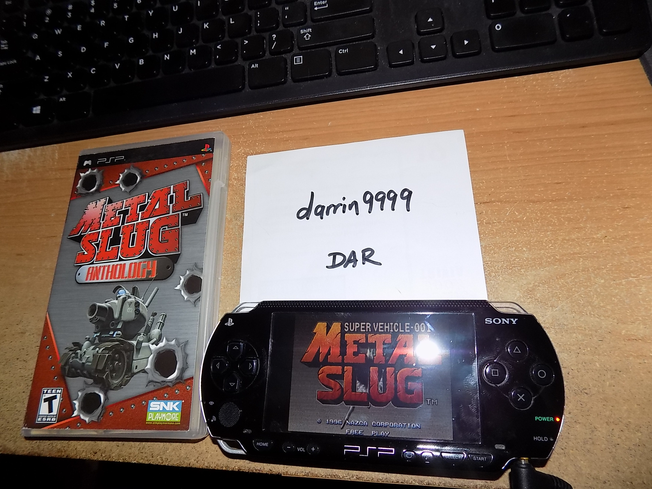 darrin9999: Metal Slug Anthology: Metal Slug (PSP) 42,320 points on 2018-09-14 16:57:12
