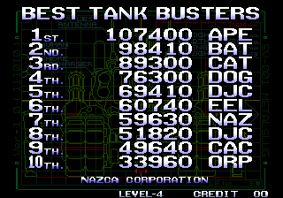 Metal Slug [mslug] 69,410 points