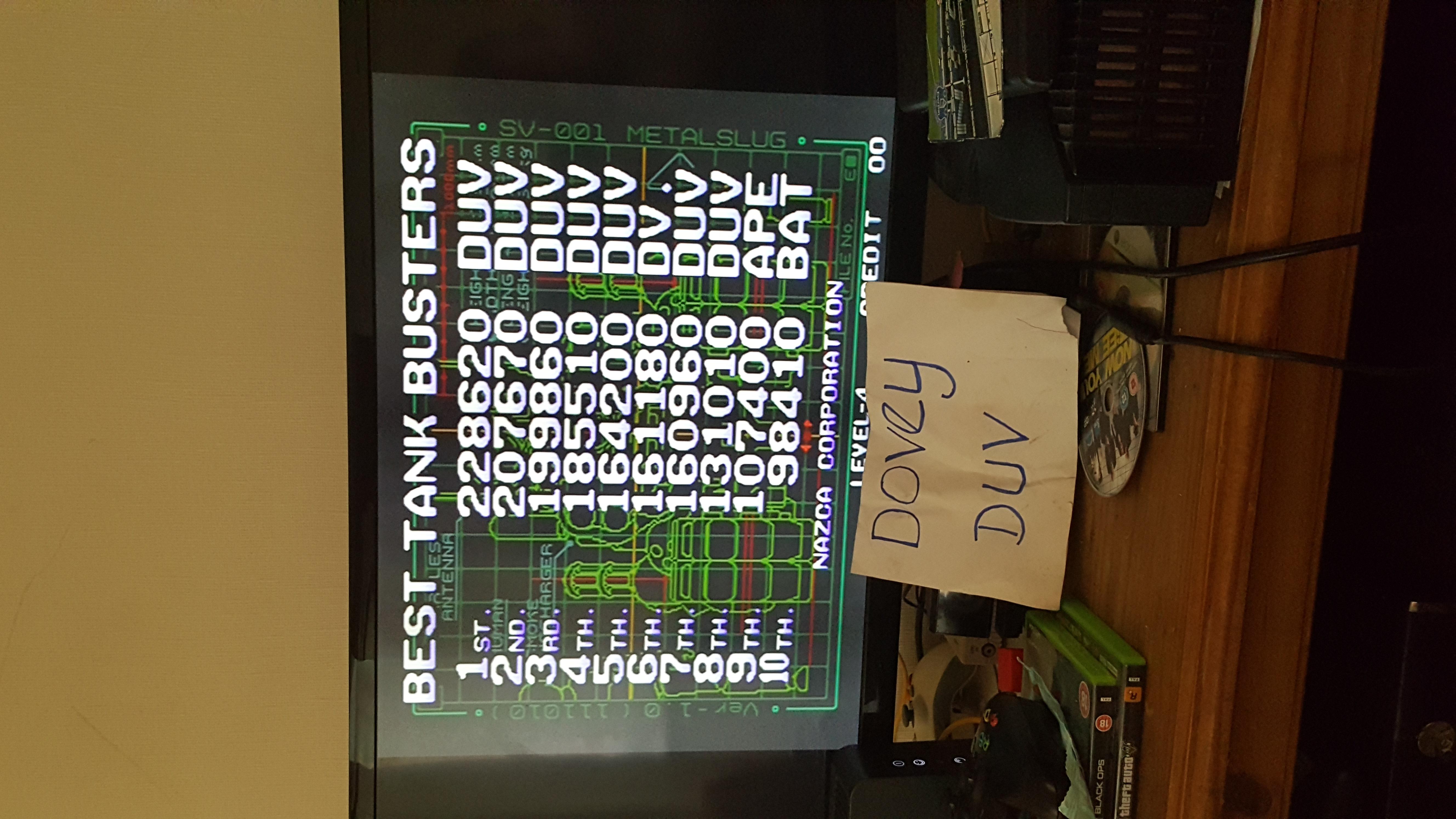 Metal Slug [mslug] 228,620 points