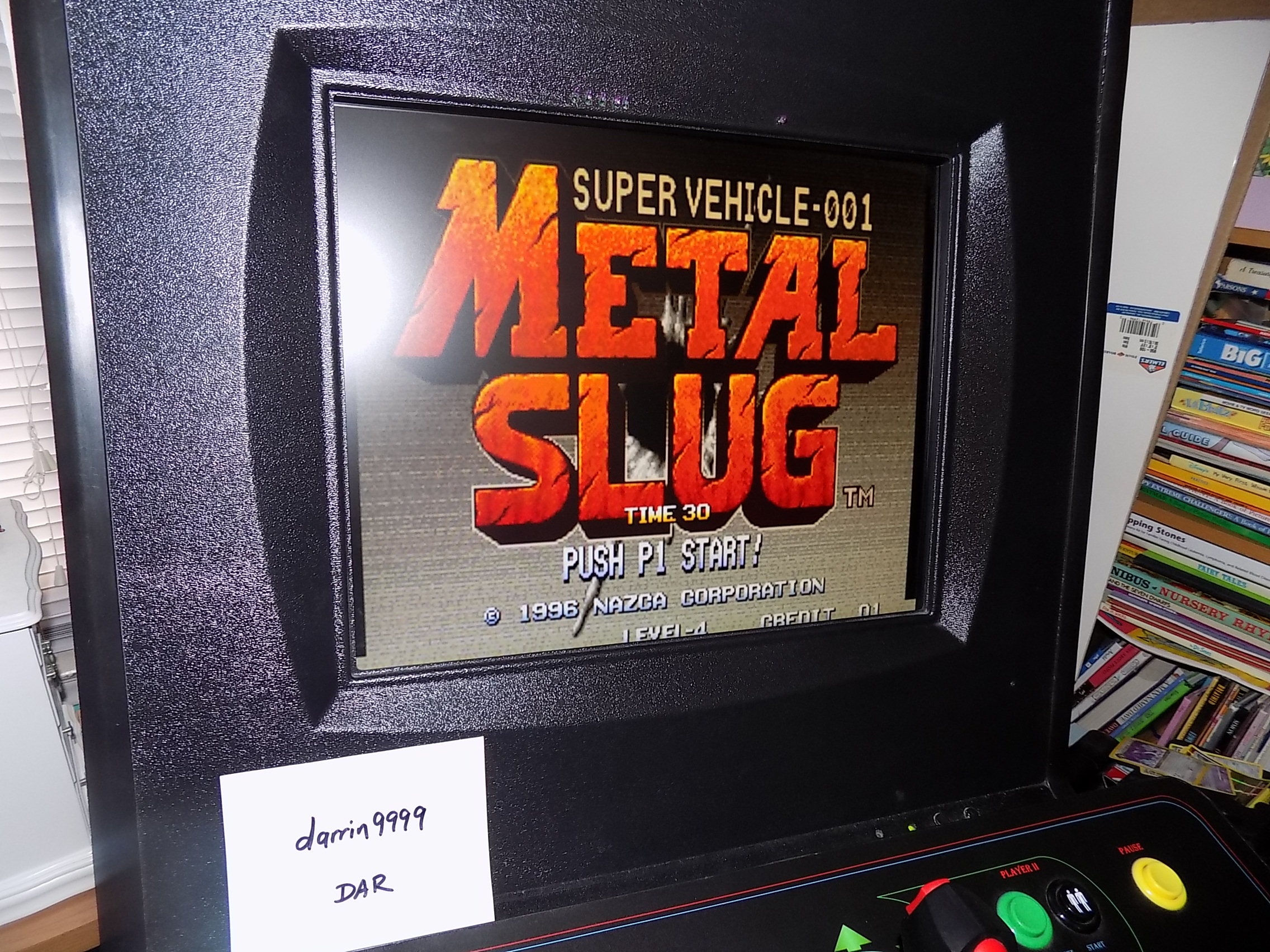 darrin9999: Metal Slug [mslug] (Arcade Emulated / M.A.M.E.) 47,600 points on 2018-04-04 15:04:28