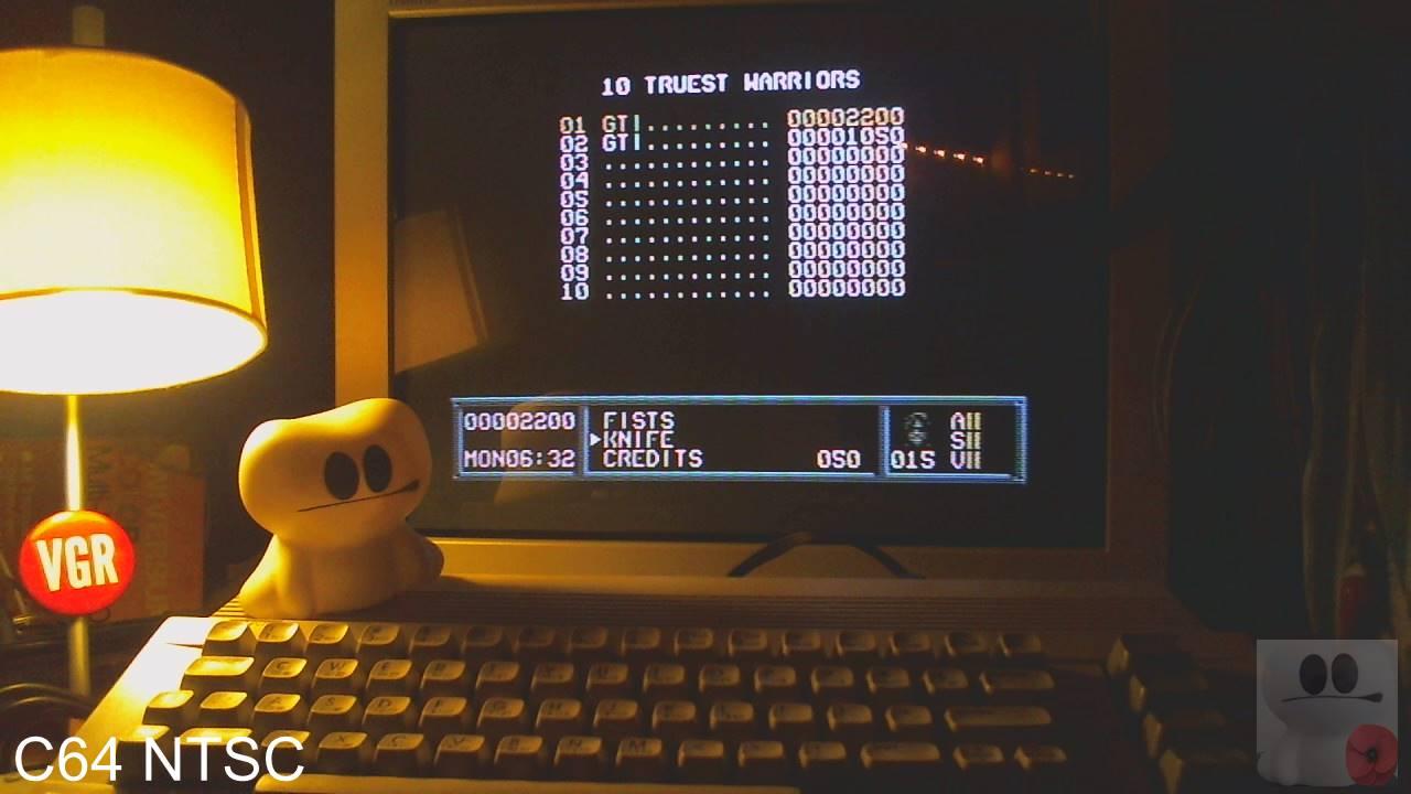 GTibel: Metal Warrior 3 (Commodore 64) 2,200 points on 2020-02-21 01:19:30