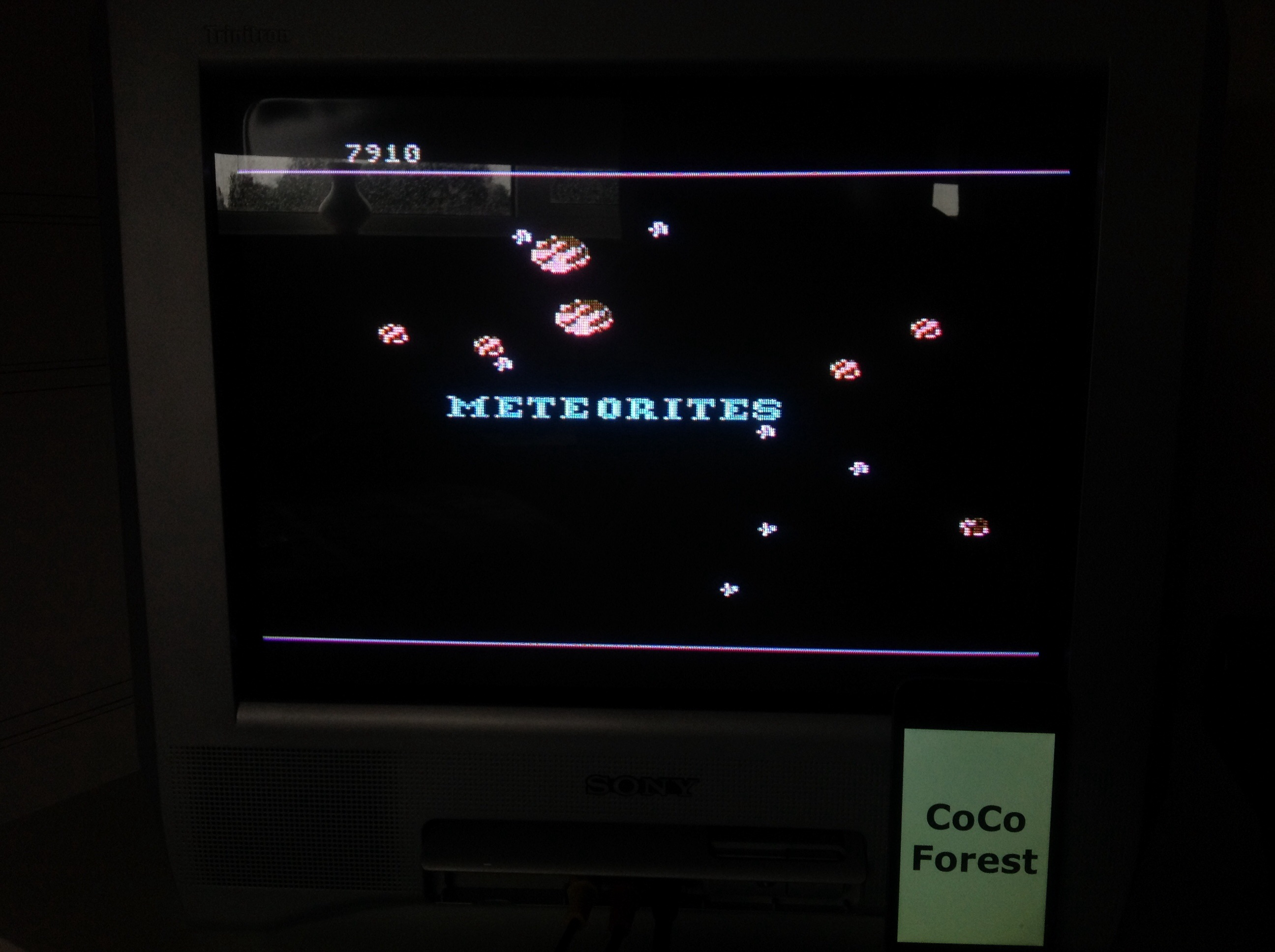 CoCoForest: Meteorites (Atari 5200) 7,910 points on 2015-08-19 10:36:58