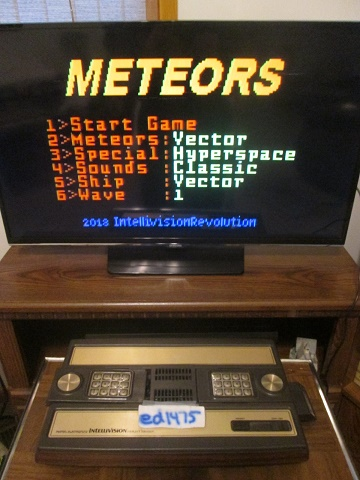 ed1475: Meteors (Intellivision) 1,560 points on 2018-12-28 21:01:46