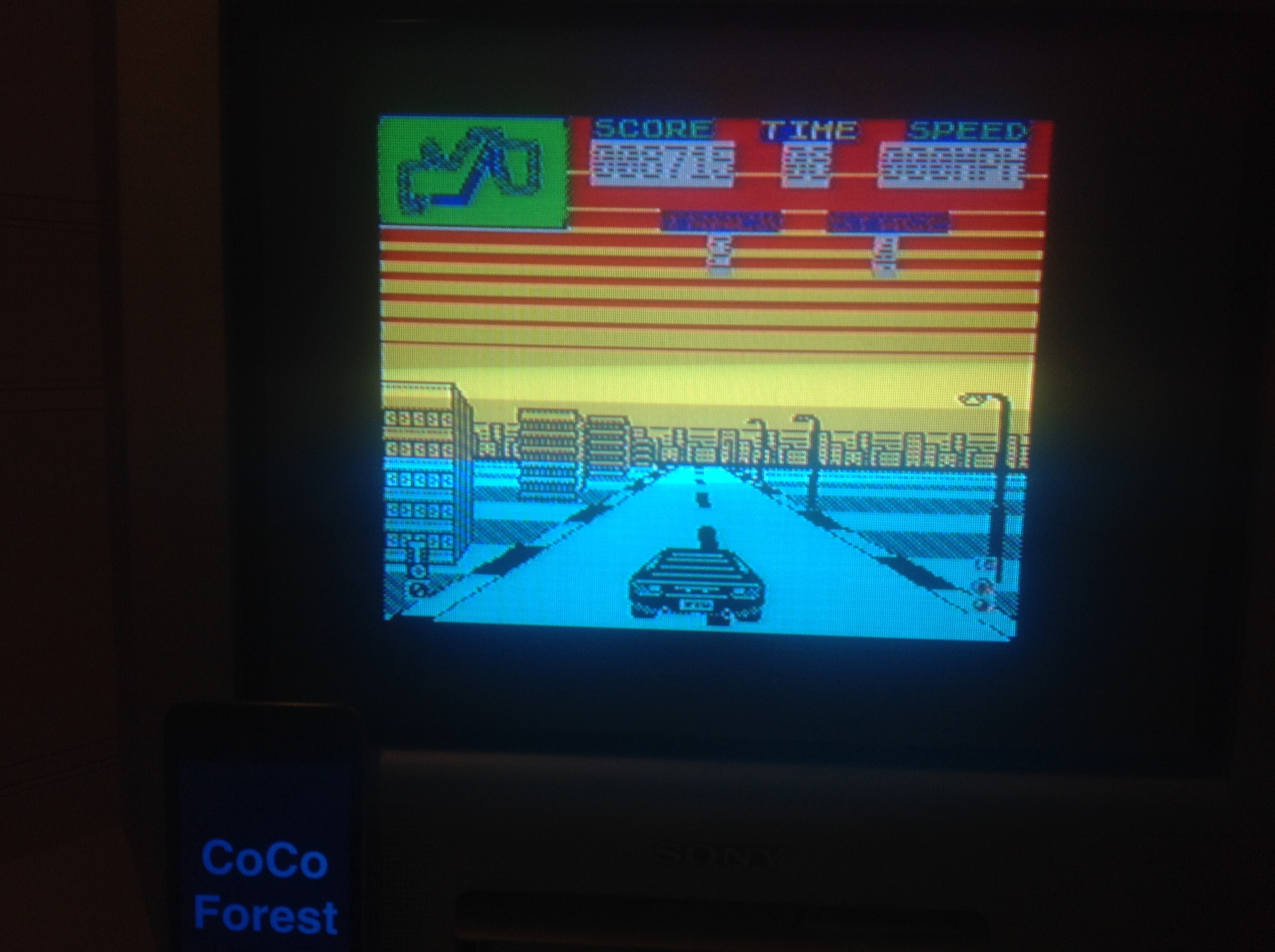 CoCoForest: Miami Cobra GT (ZX Spectrum) 8,715 points on 2016-01-13 10:52:32
