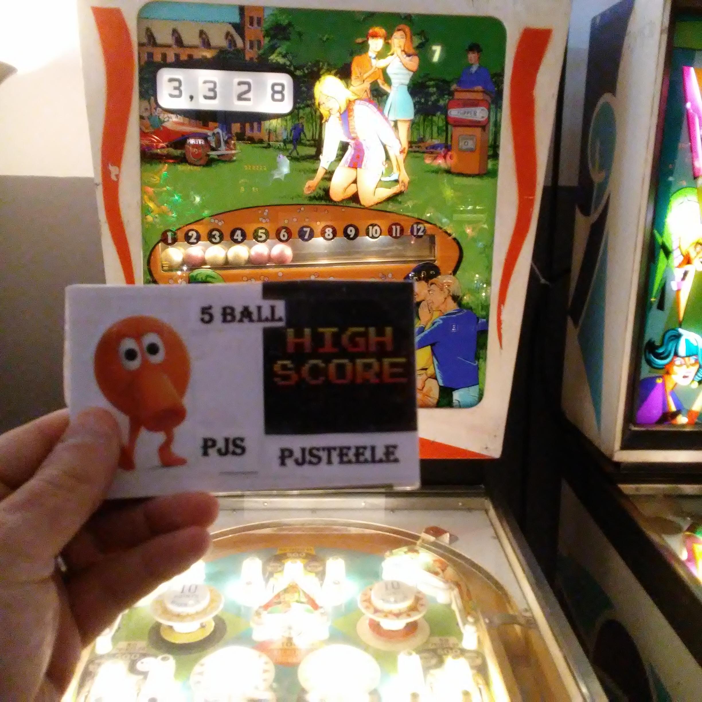 Pjsteele: Mibs (Pinball: 5 Balls) 3,328 points on 2018-03-03 22:37:27