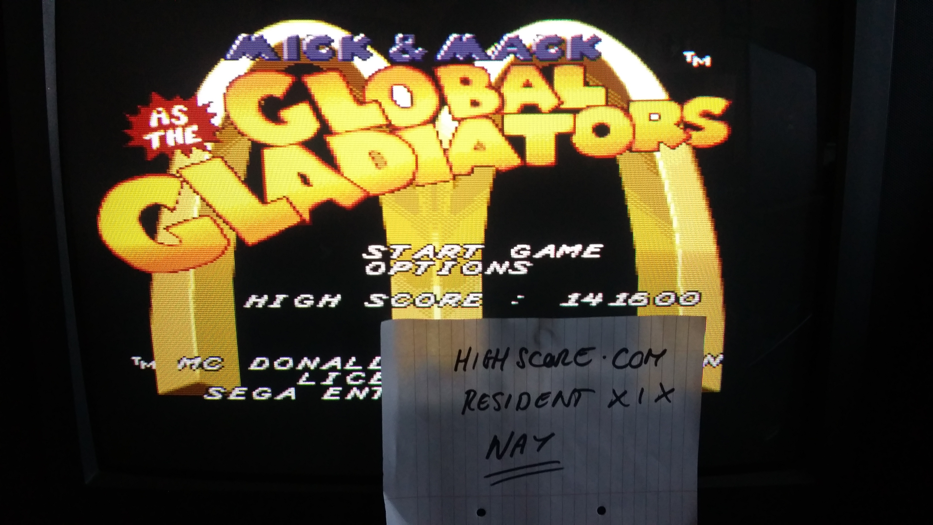 Mick & Mack As The Global Gladiators [Normal] 141,600 points