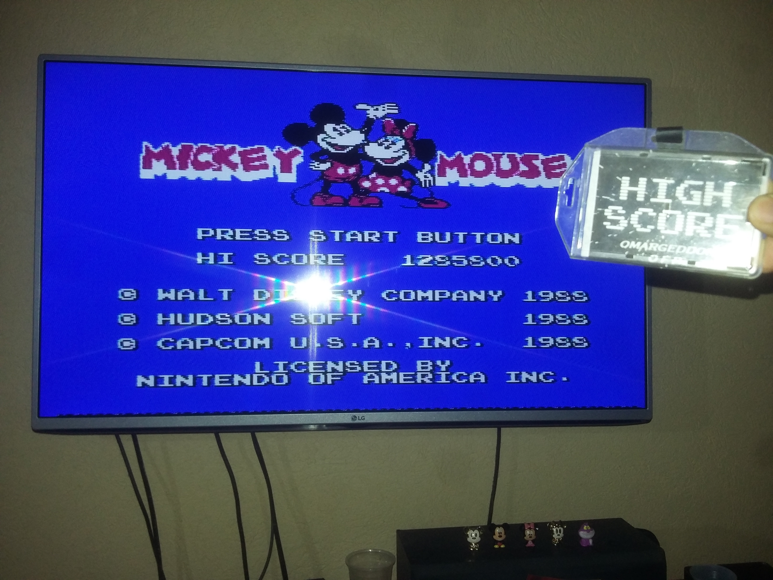omargeddon: Mickey Mousecapade [Any Tactics] (NES/Famicom) 1,285,800 points on 2017-06-10 17:21:06