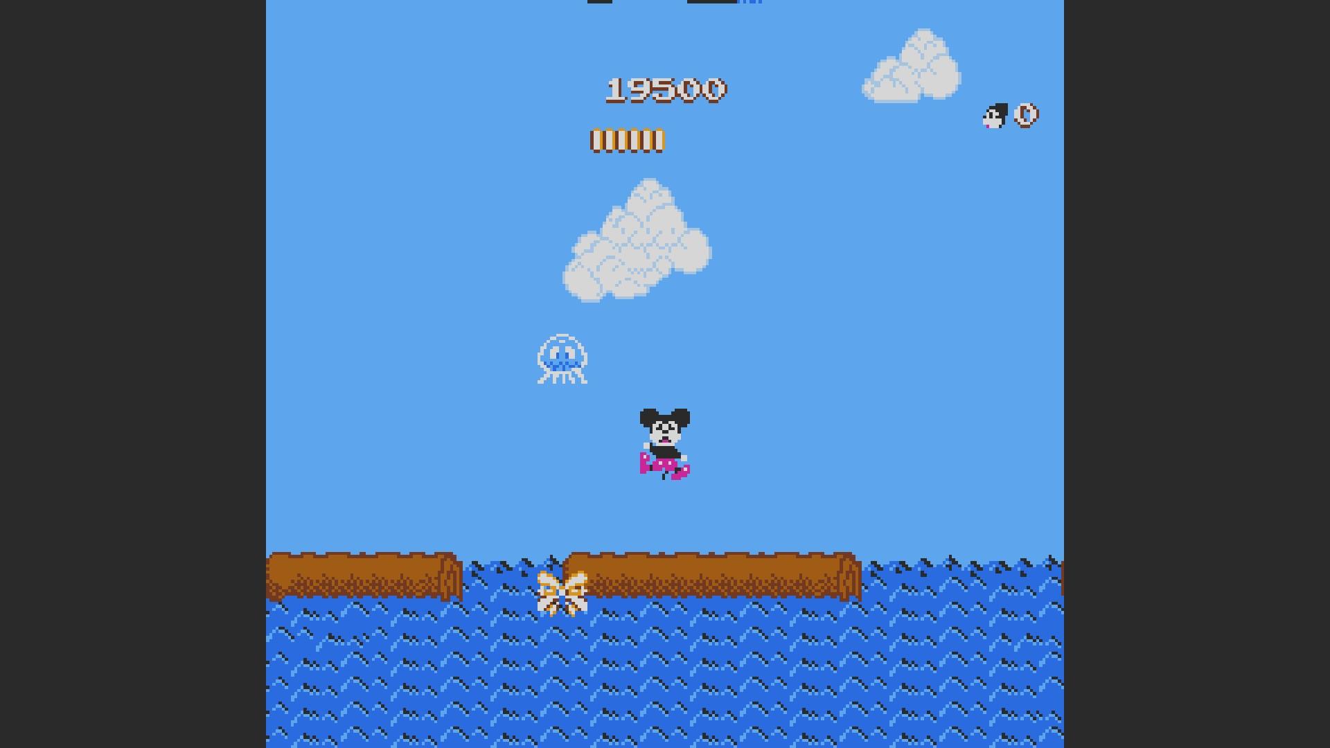 AkinNahtanoj: Mickey Mousecapade (NES/Famicom Emulated) 19,500 points on 2020-10-12 05:08:52