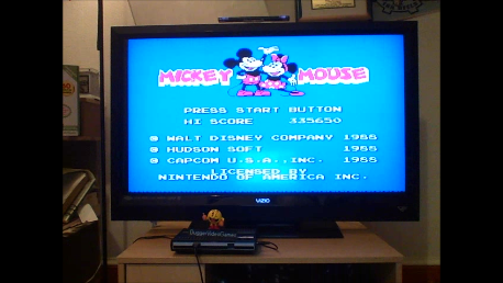 DuggerVideoGames: Mickey Mousecapade (NES/Famicom Emulated) 335,650 points on 2016-07-12 02:59:47