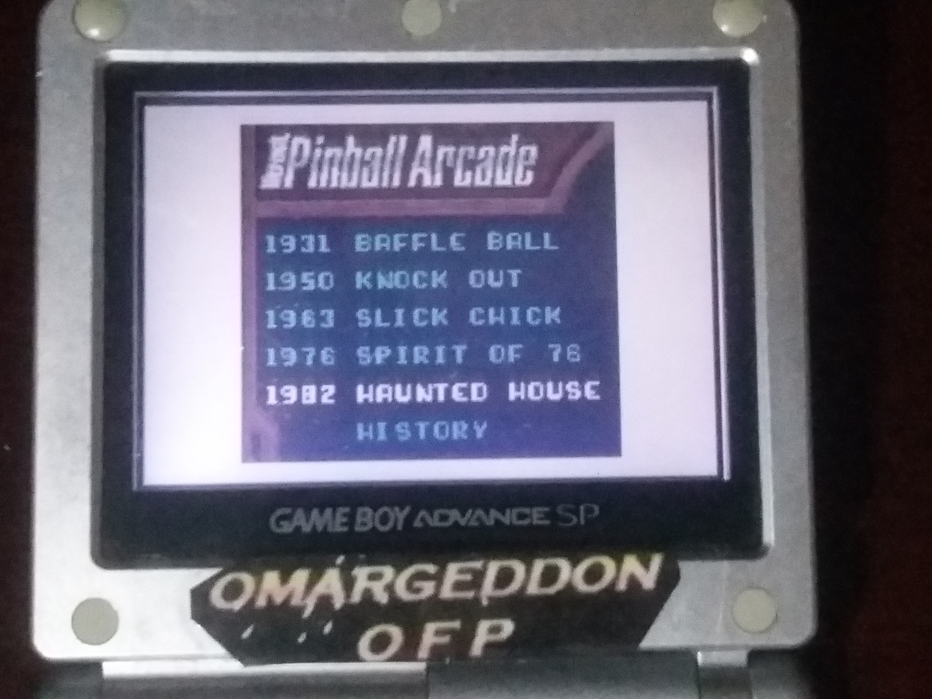 omargeddon: Microsoft Pinball Arcade: Haunted House (Game Boy Color) 533,850 points on 2018-01-29 00:45:01