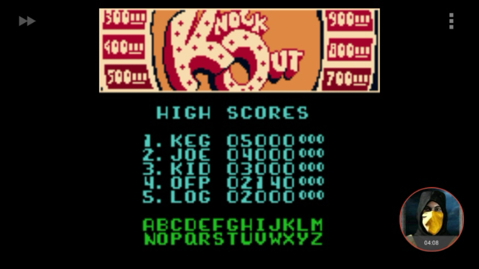 omargeddon: Microsoft Pinball Arcade: Knock Out (Game Boy Color Emulated) 2,140 points on 2018-01-29 21:39:29