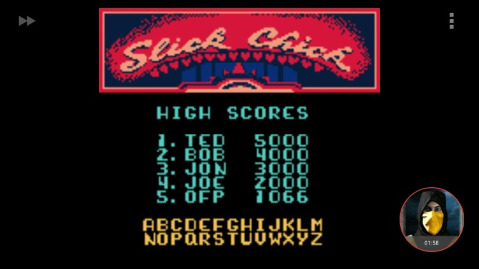 omargeddon: Microsoft Pinball Arcade: Slick Chick (Game Boy Color Emulated) 1,066 points on 2018-01-29 16:07:11