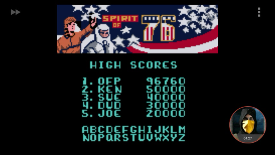omargeddon: Microsoft Pinball Arcade: Spirit of 76 (Game Boy Color Emulated) 96,760 points on 2018-01-29 21:40:09