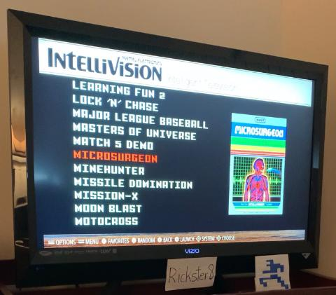 Rickster8: Microsurgeon (Intellivision Emulated) 5,727,000 points on 2021-02-24 11:20:21