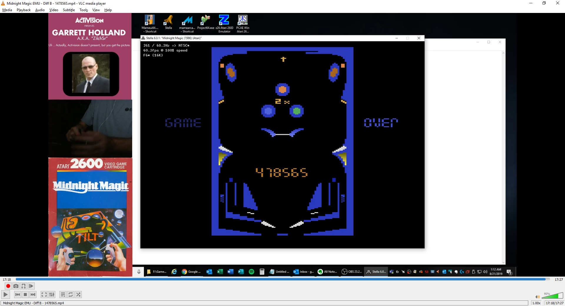 ZilchSr: Midnight Magic (Atari 2600 Emulated Novice/B Mode) 1,478,565 points on 2019-08-21 00:34:26