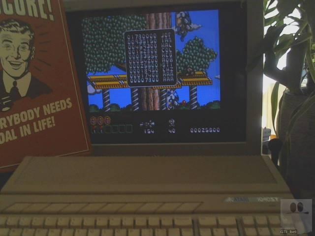 GTibel: Midnight Resistance (Atari ST) 25,600 points on 2019-12-05 01:19:50