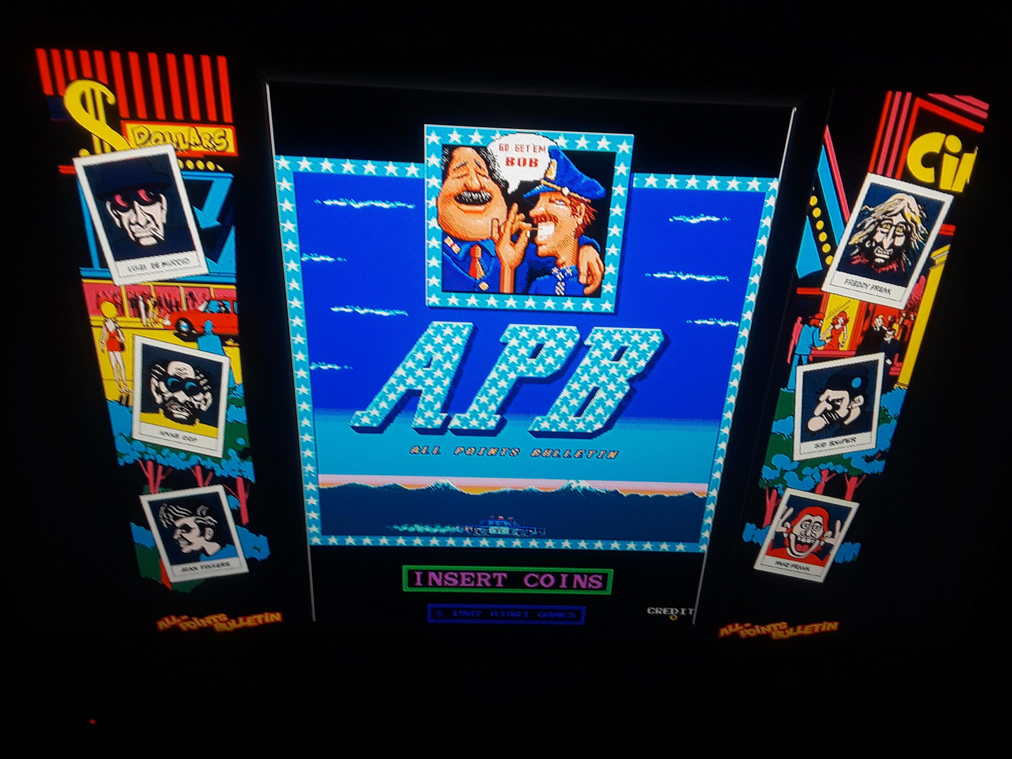 Midway Arcade Origins: APB 350 points