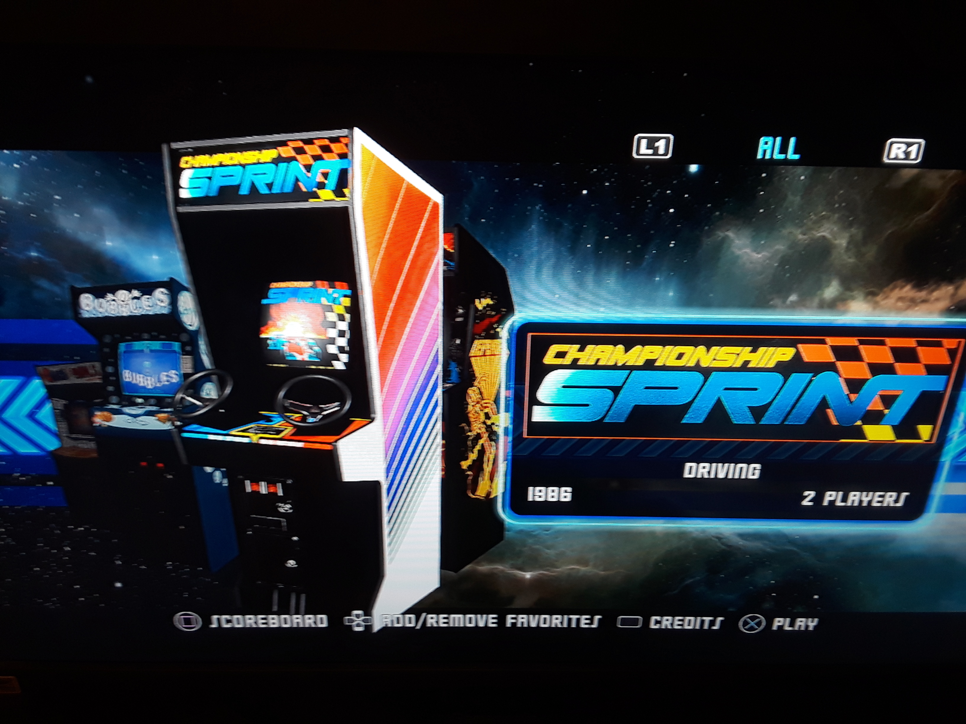 Midway Arcade Origins: Championship Sprint 2,240 points