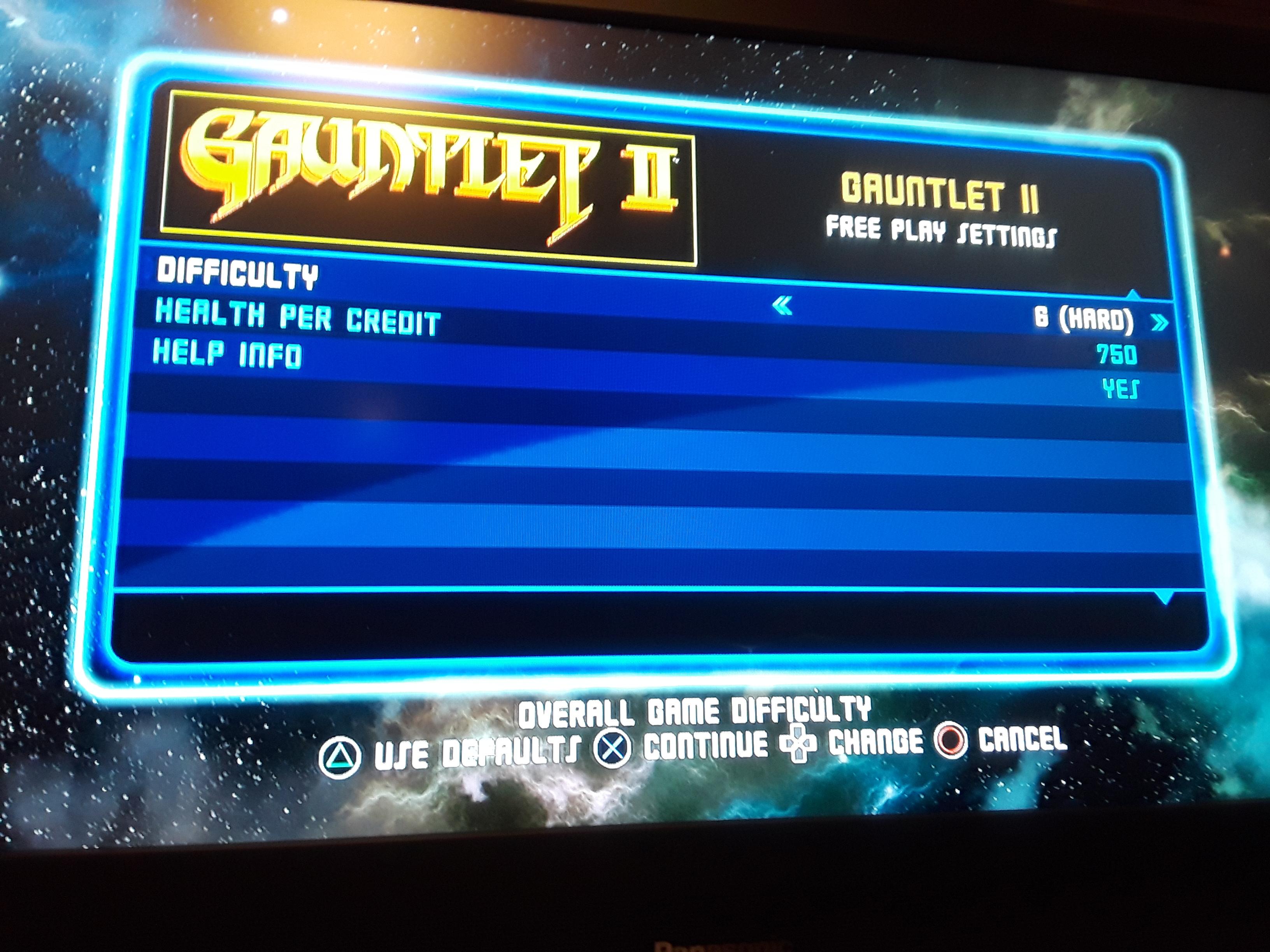Midway Arcade Origins: Gauntlet 2 [Hard] 2,400 points