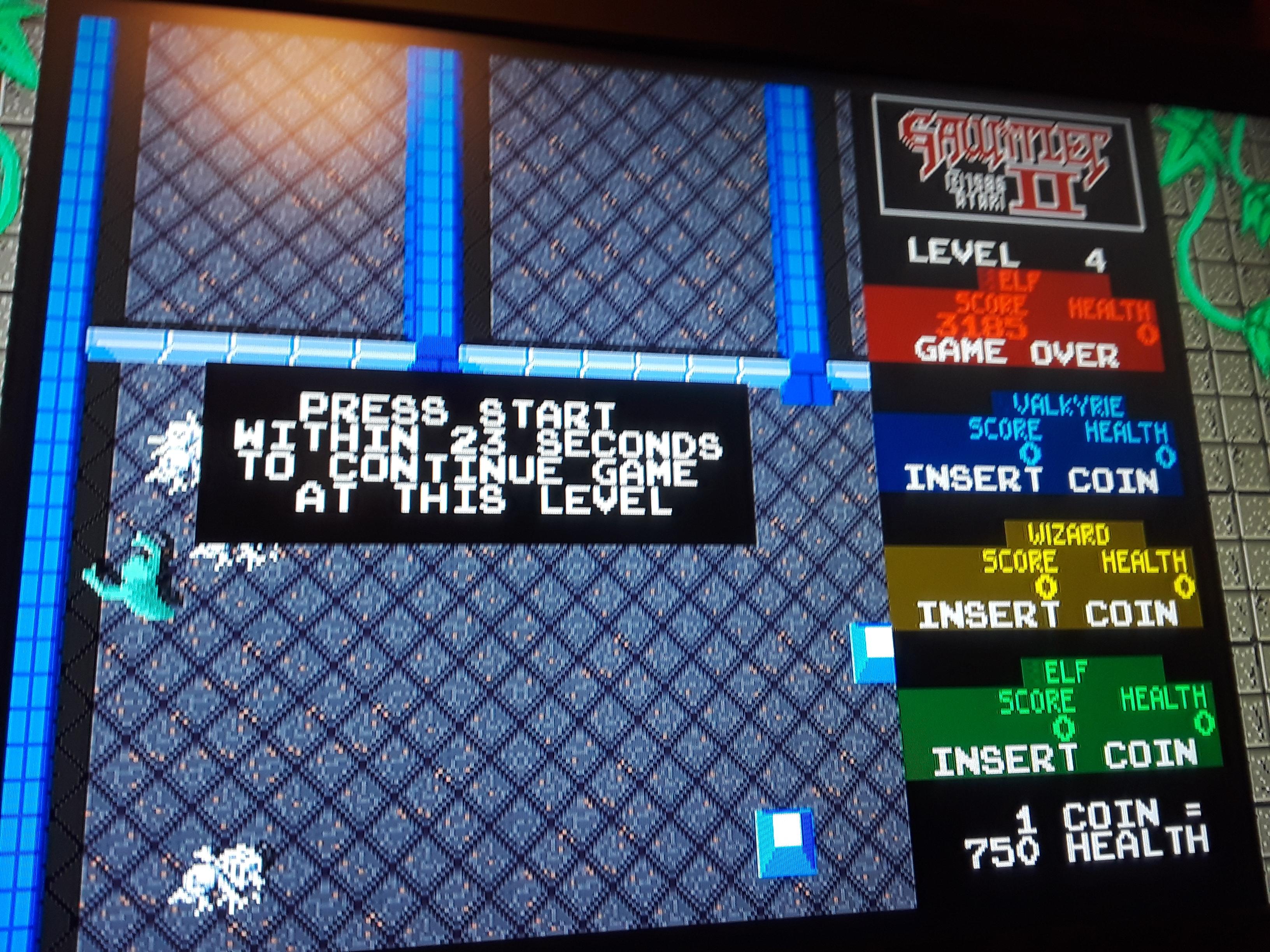 JML101582: Midway Arcade Origins: Gauntlet 2 [Medium] (Playstation 3) 3,185 points on 2018-09-19 22:57:27