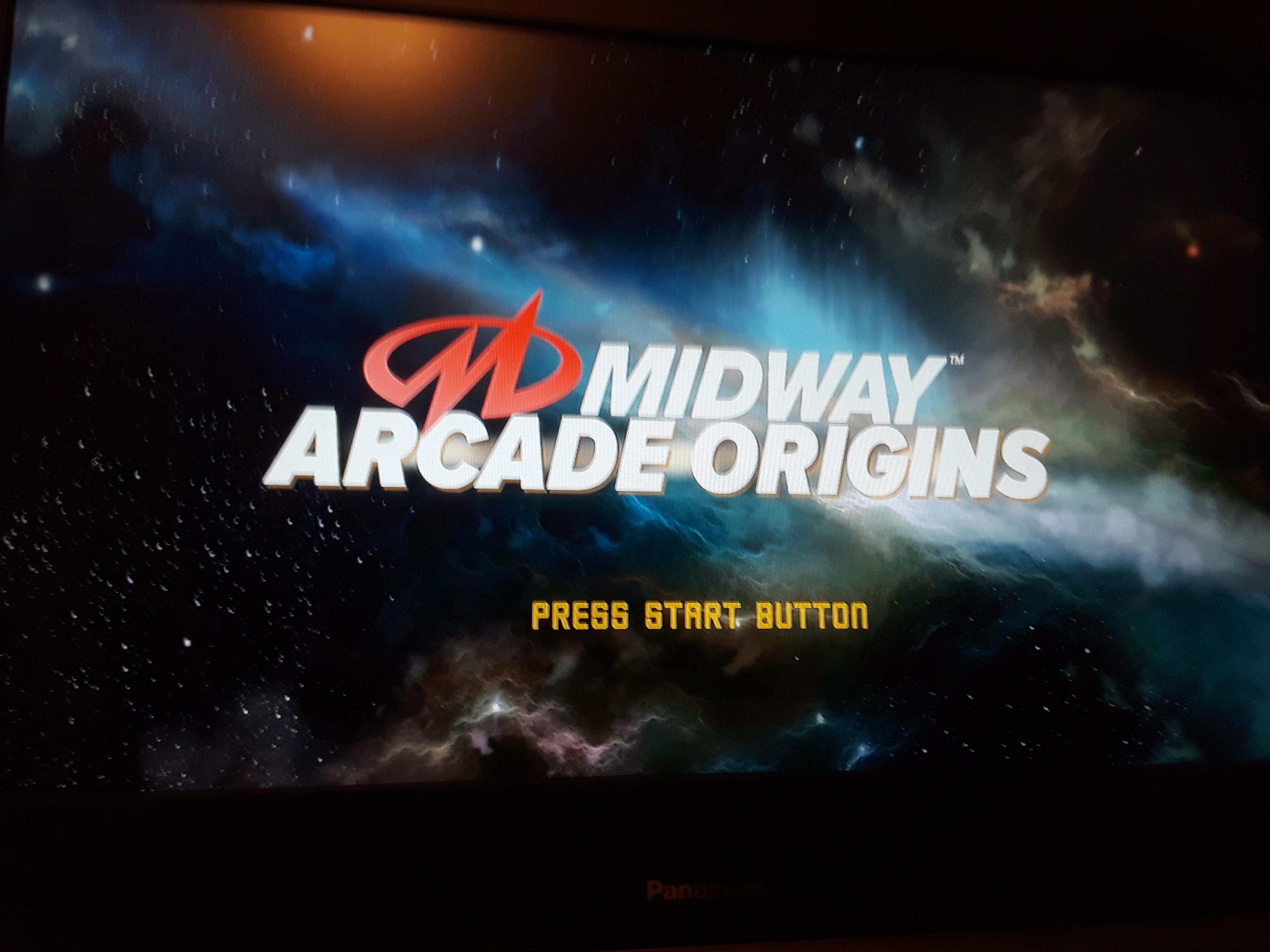 Midway Arcade Origins: Gauntlet [Hard] 3,160 points