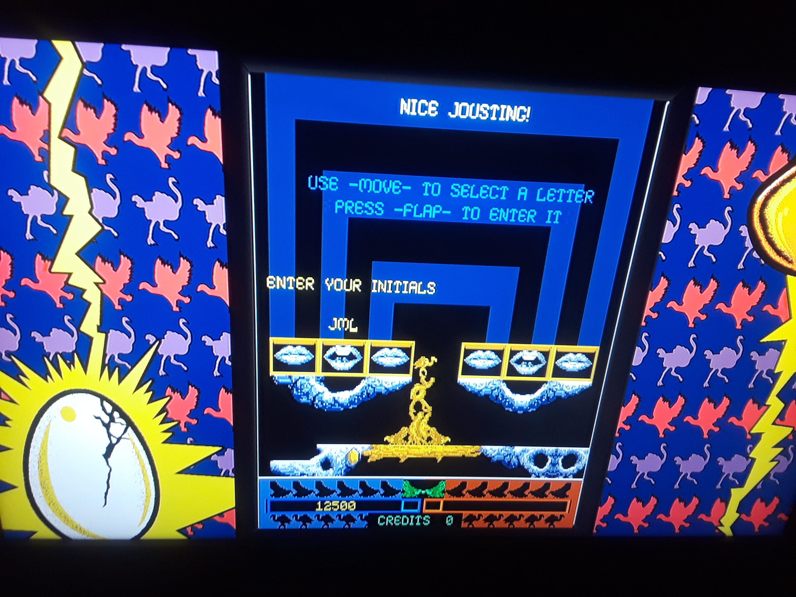 Midway Arcade Origins: Joust II 12,500 points