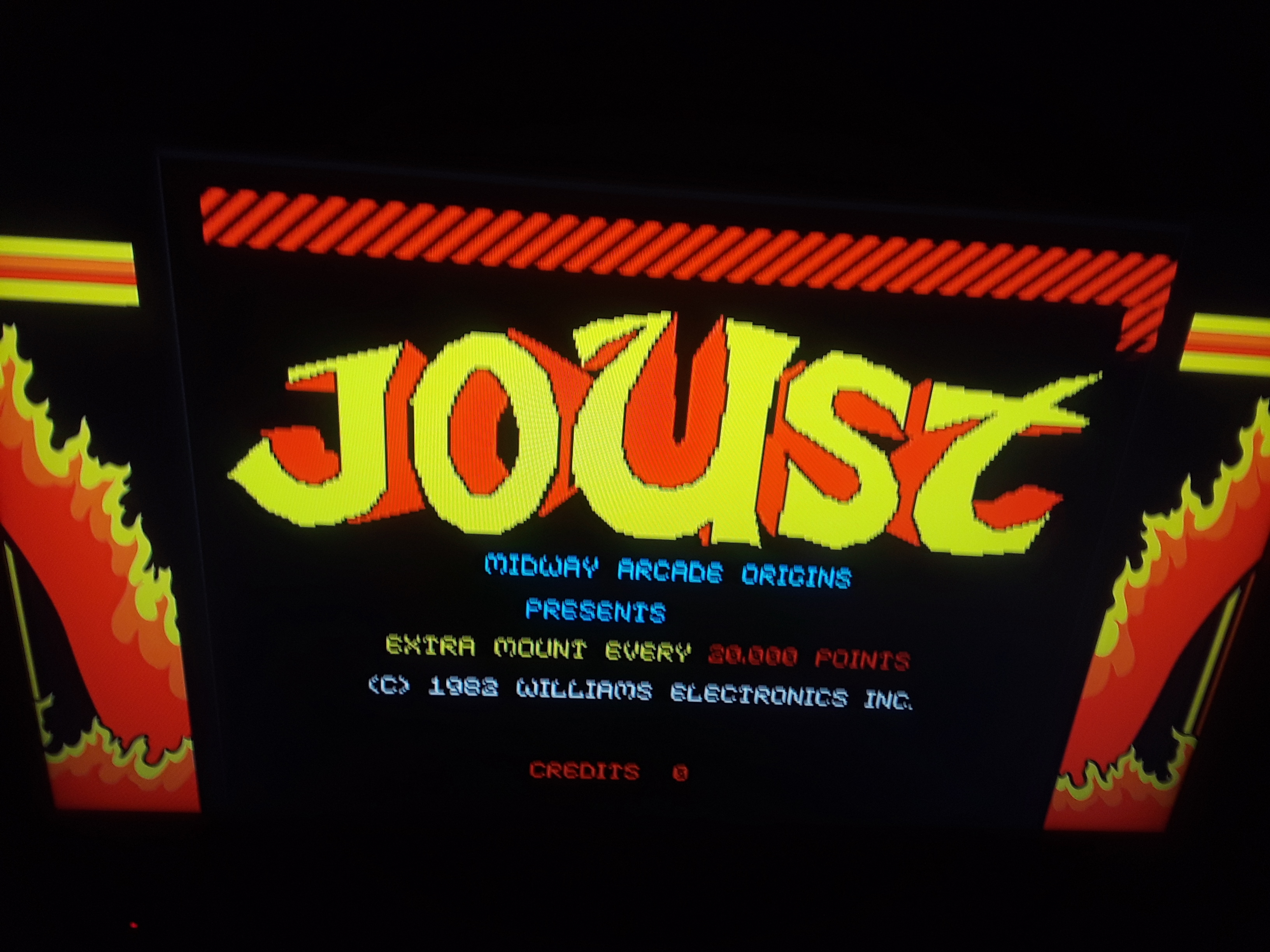 Midway Arcade Origins: Joust 17,000 points
