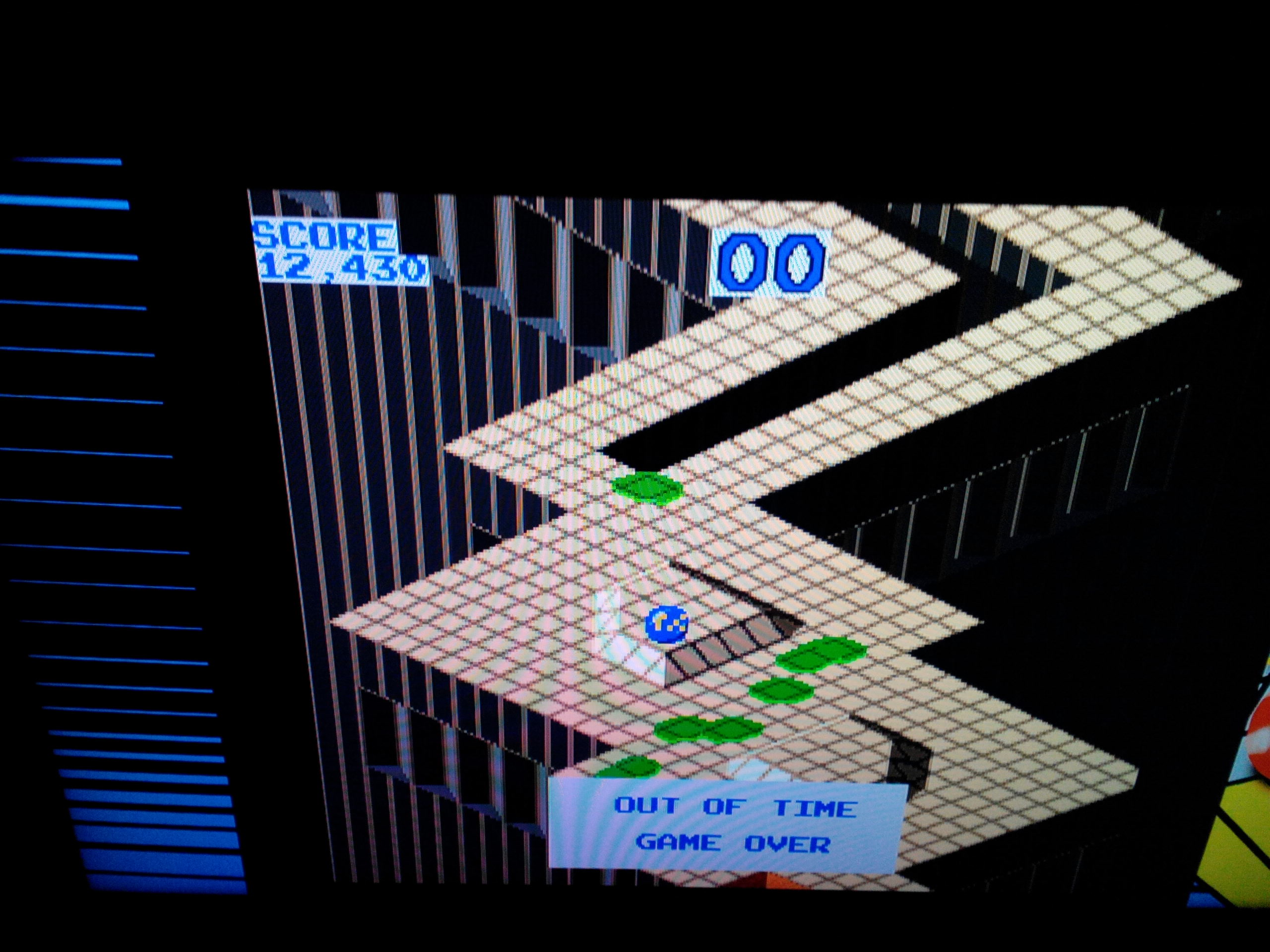 Midway Arcade Origins: Marble Madness 12,430 points