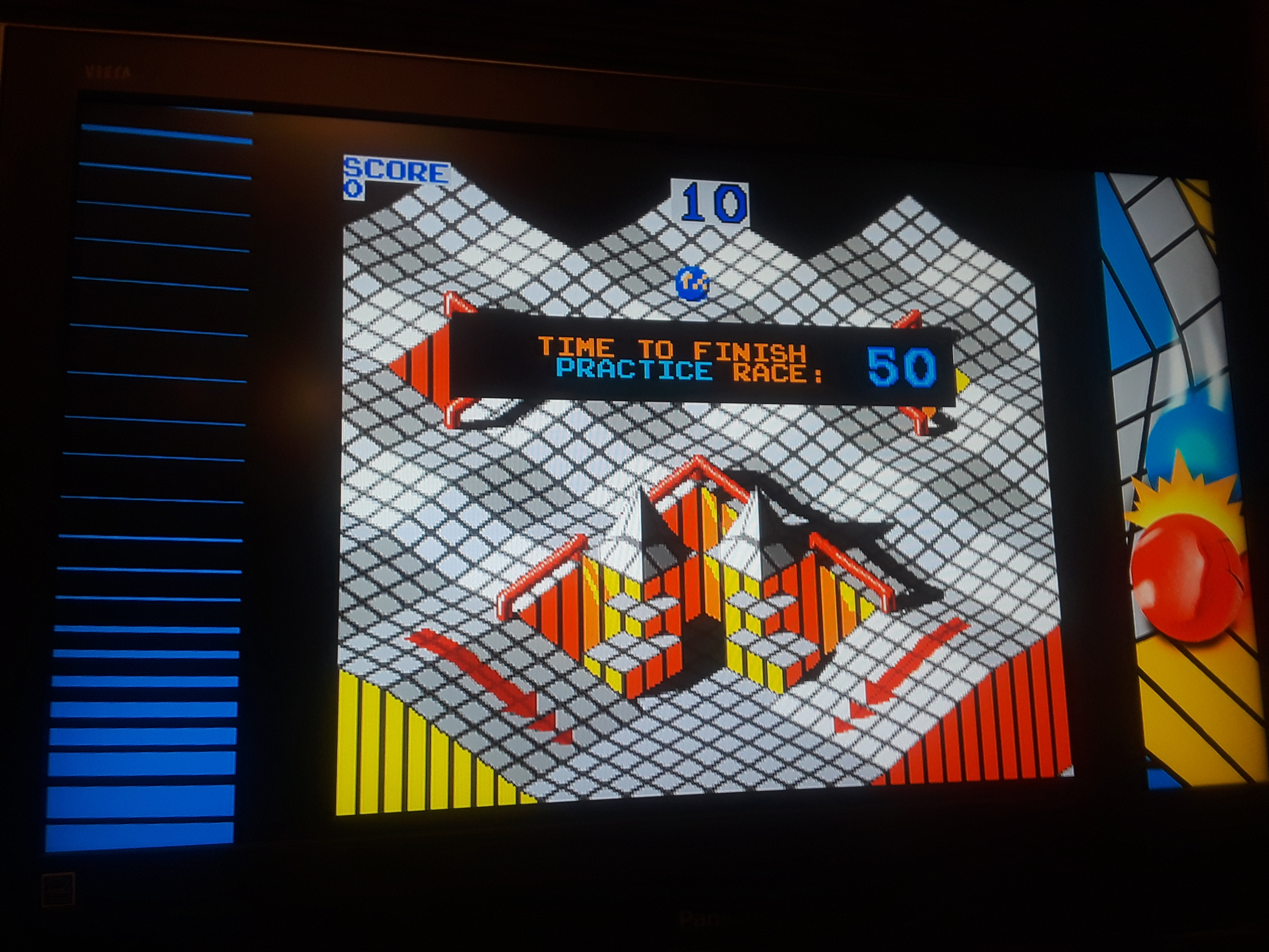 Midway Arcade Origins: Marble Madness 13,090 points