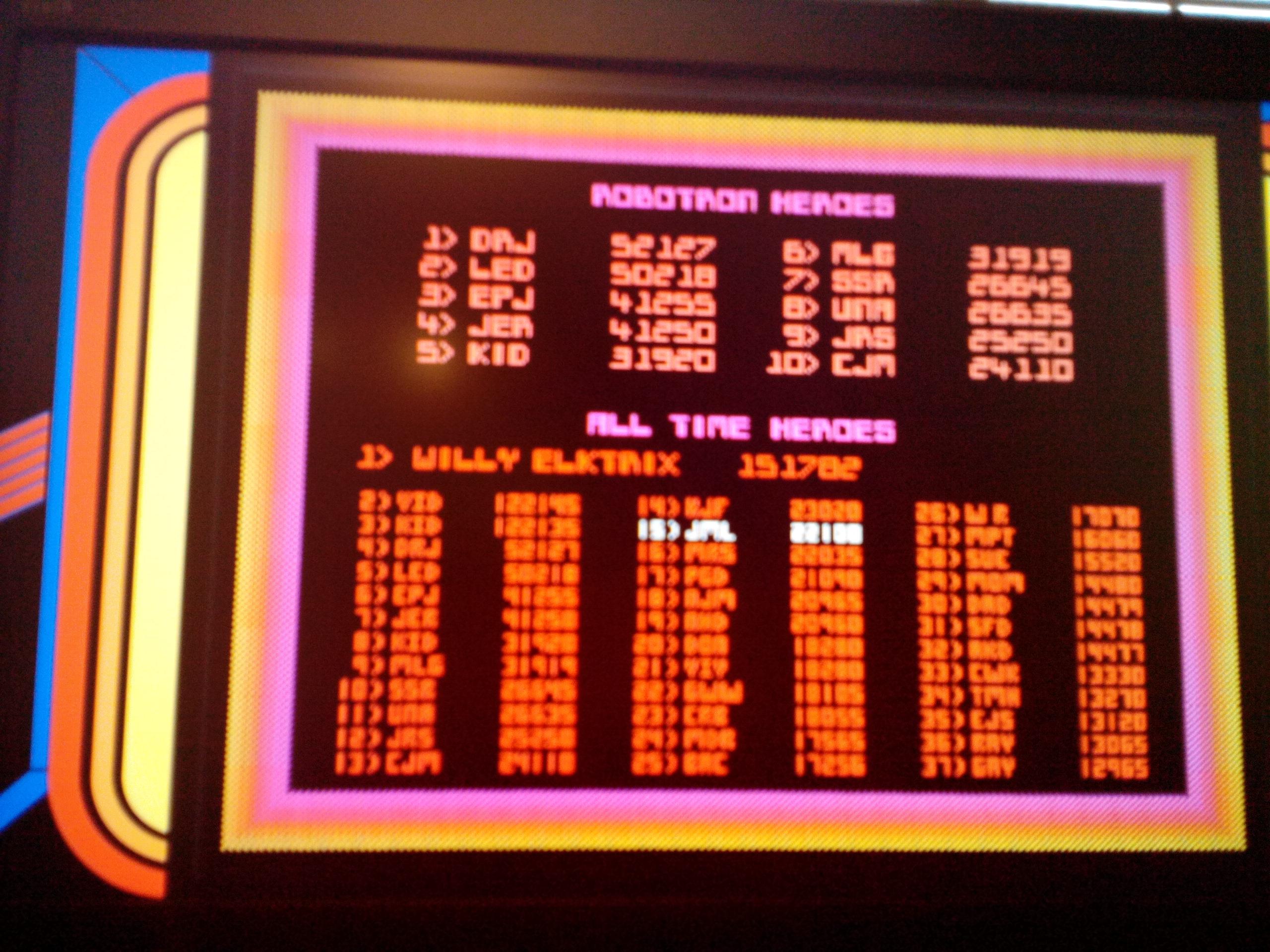 Midway Arcade Origins: Robotron 2084 22,100 points