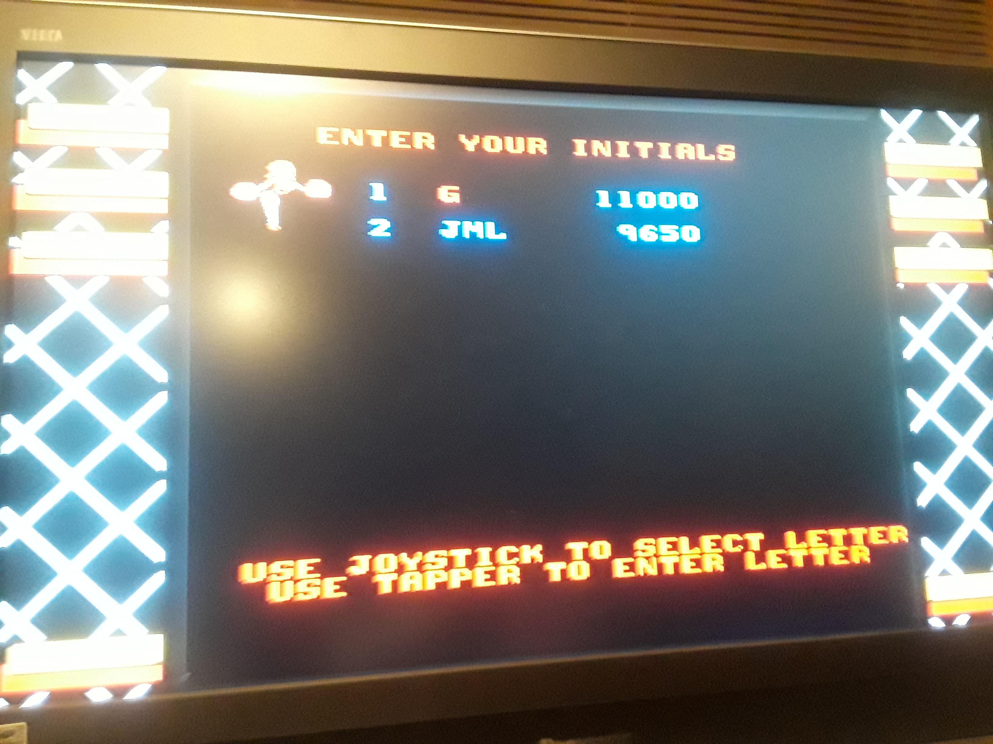 Midway Arcade Origins: Root Beer Tapper 11,000 points