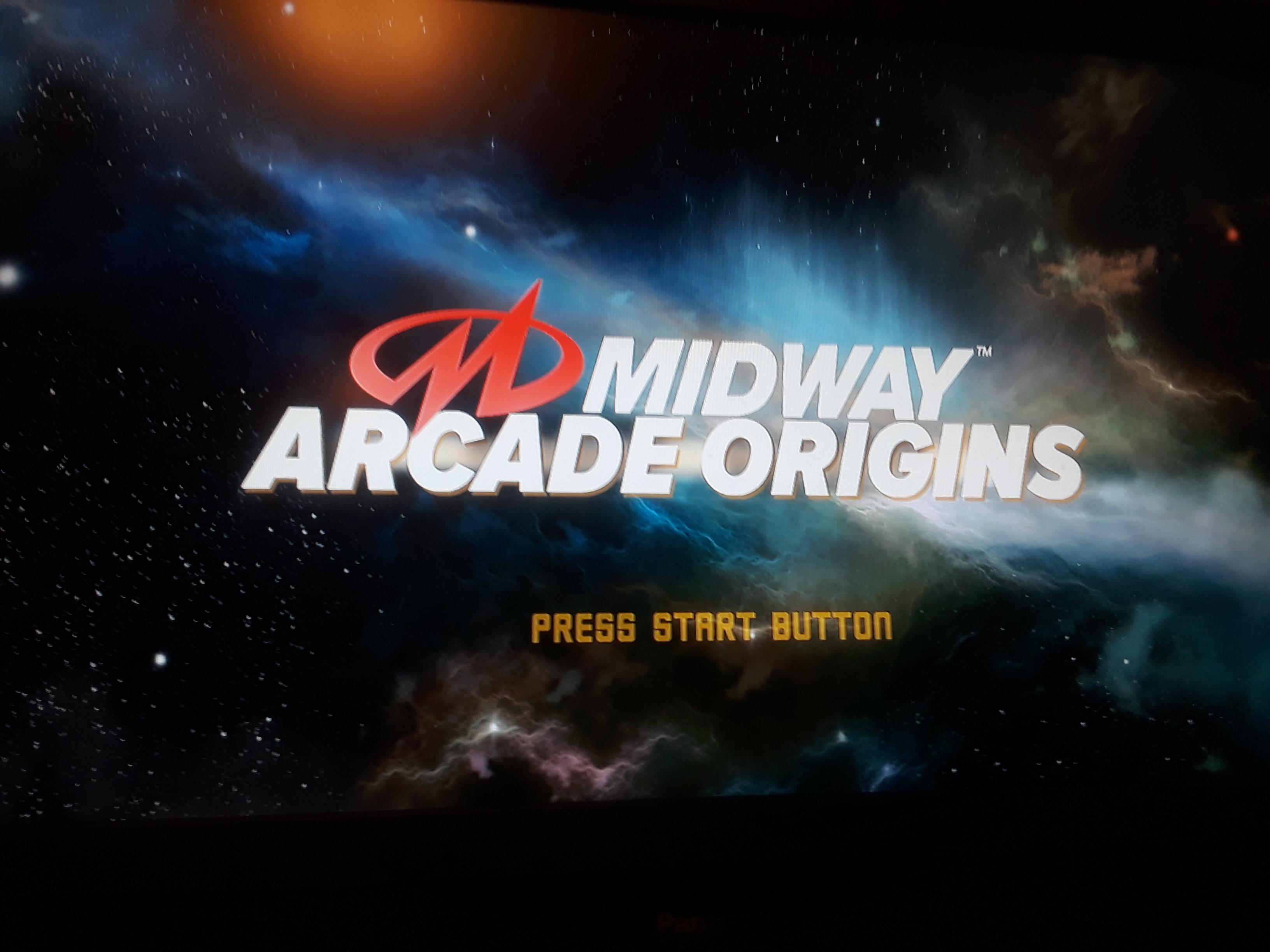 Midway Arcade Origins: Root Beer Tapper 11,450 points