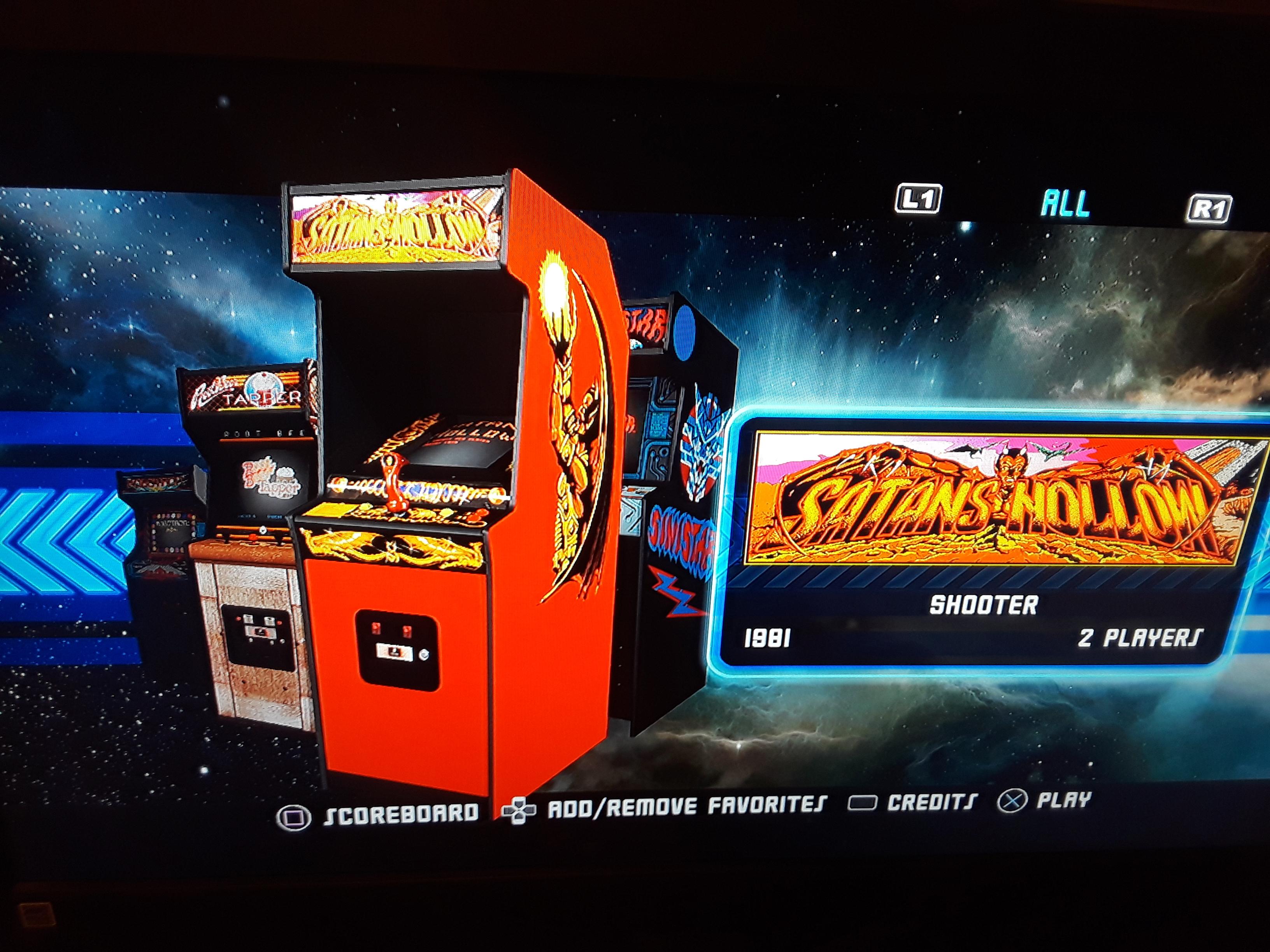 Midway Arcade Origins: Satan