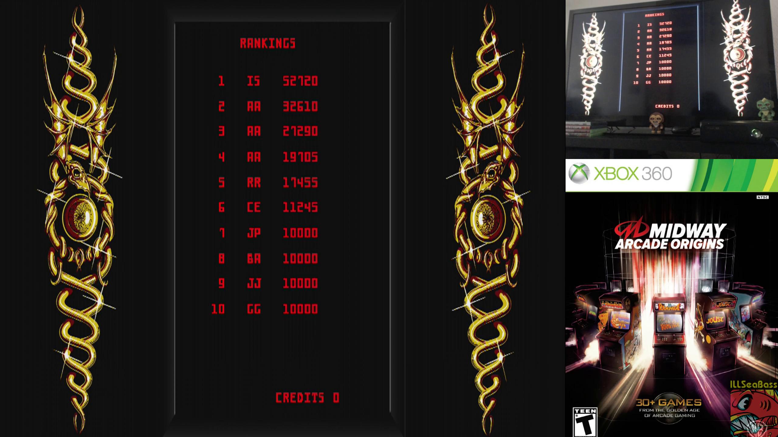 ILLSeaBass: Midway Arcade Origins: Satan