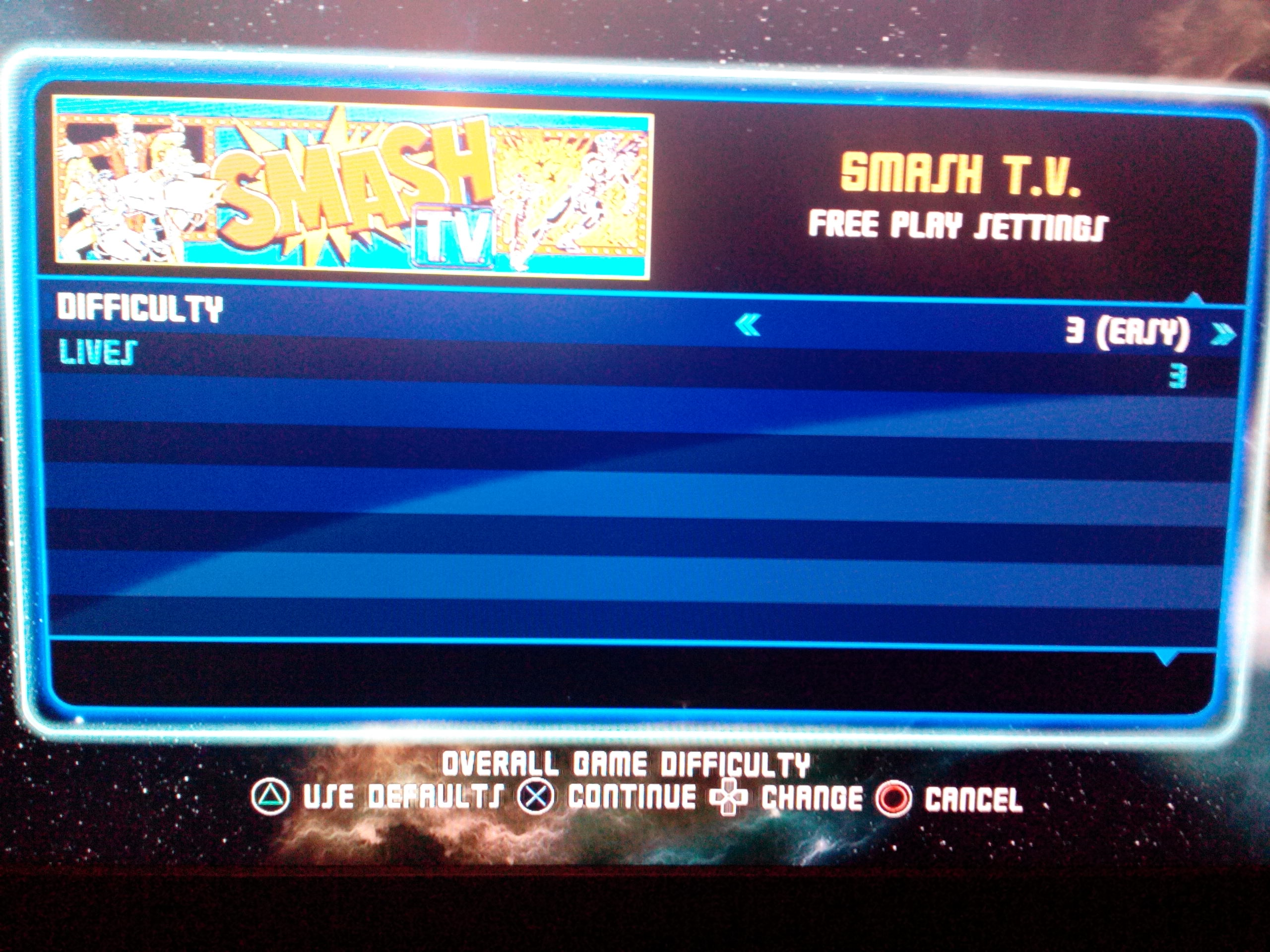 Midway Arcade Origins: Smash TV 94,070 points
