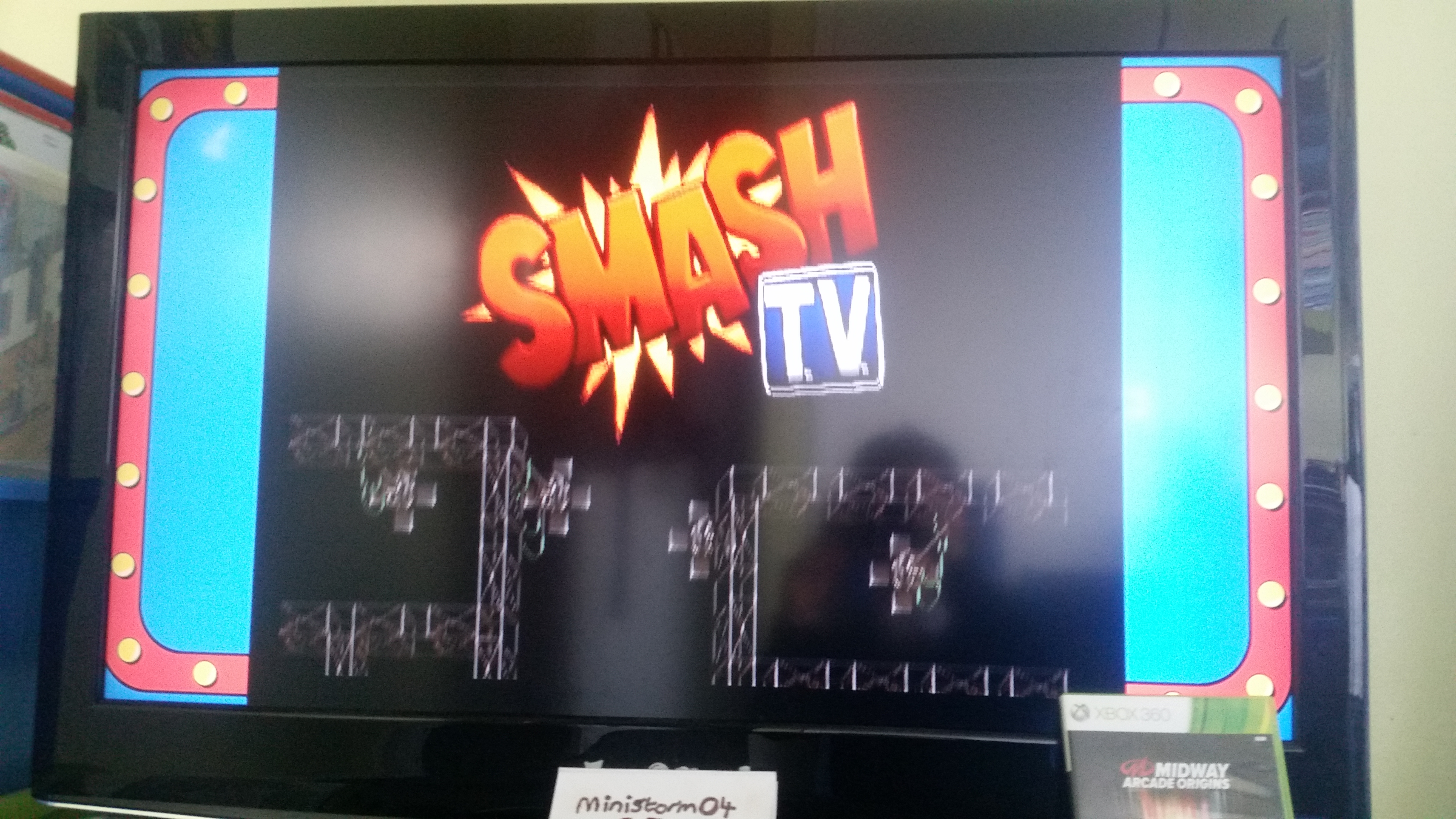 Midway Arcade Origins: Smash TV 1,027,610 points