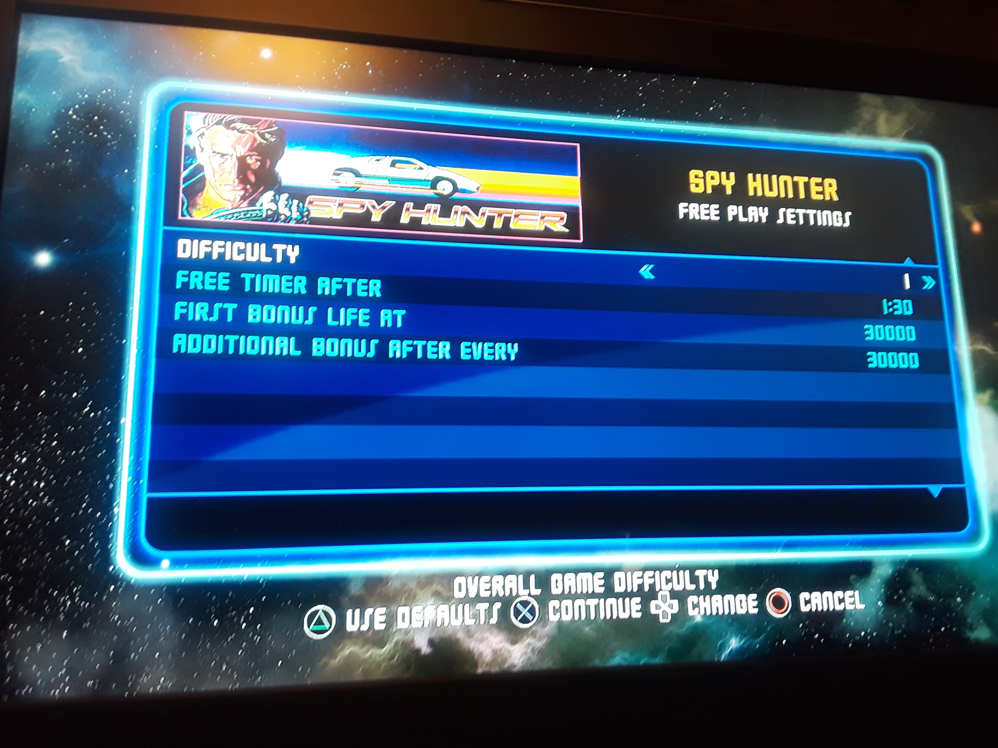 JML101582: Midway Arcade Origins: Spy Hunter [Easy] (Playstation 3) 17,400 points on 2018-10-04 21:02:08