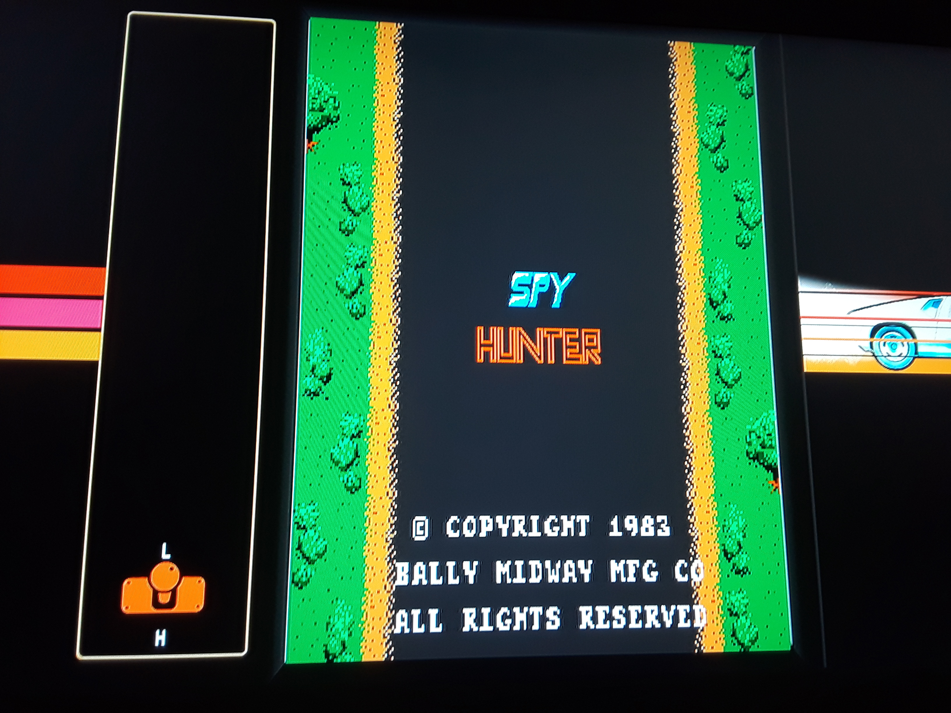 Midway Arcade Origins: Spy Hunter 16,260 points