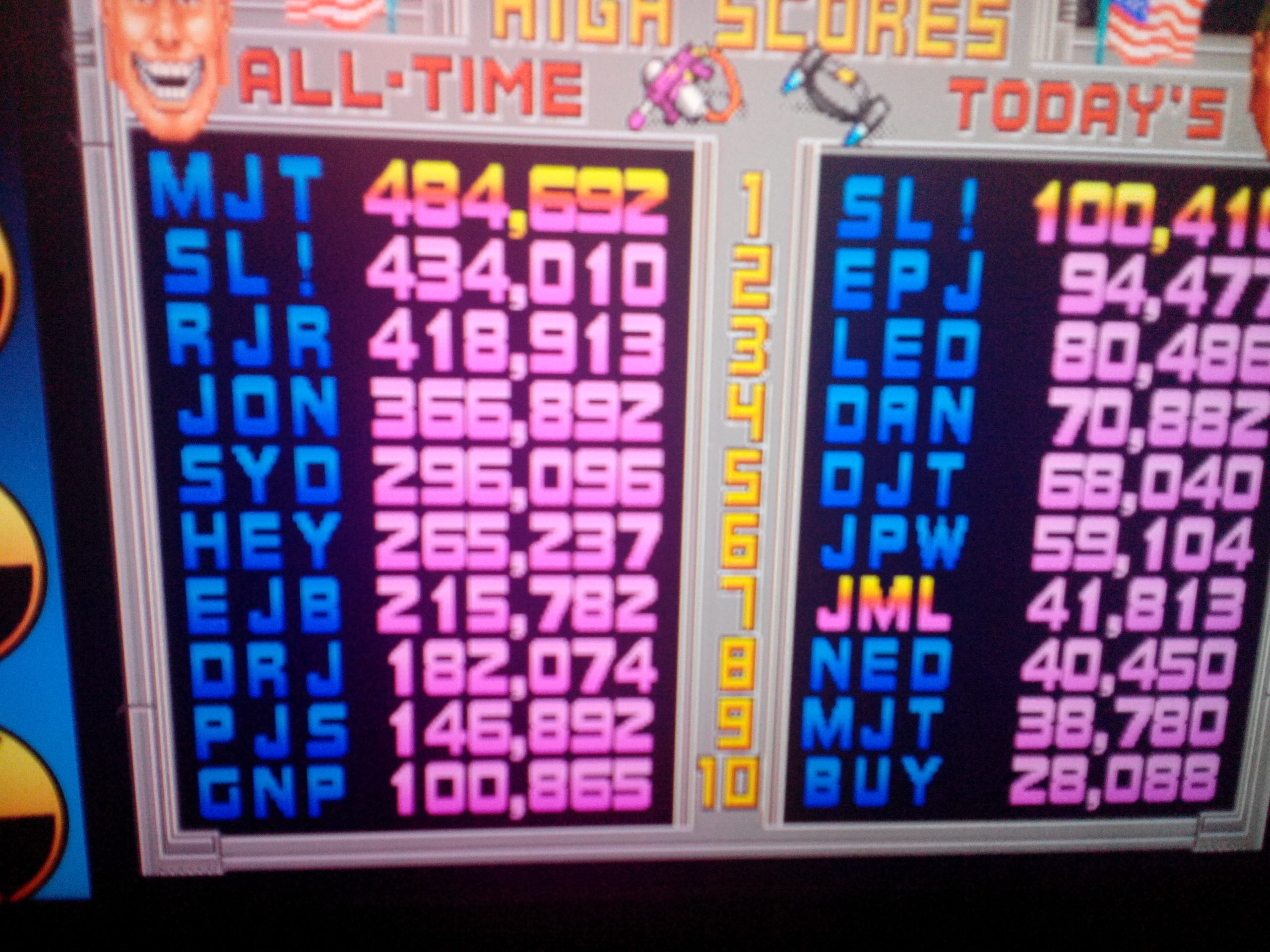 Midway Arcade Origins: Total Carnage 41,813 points