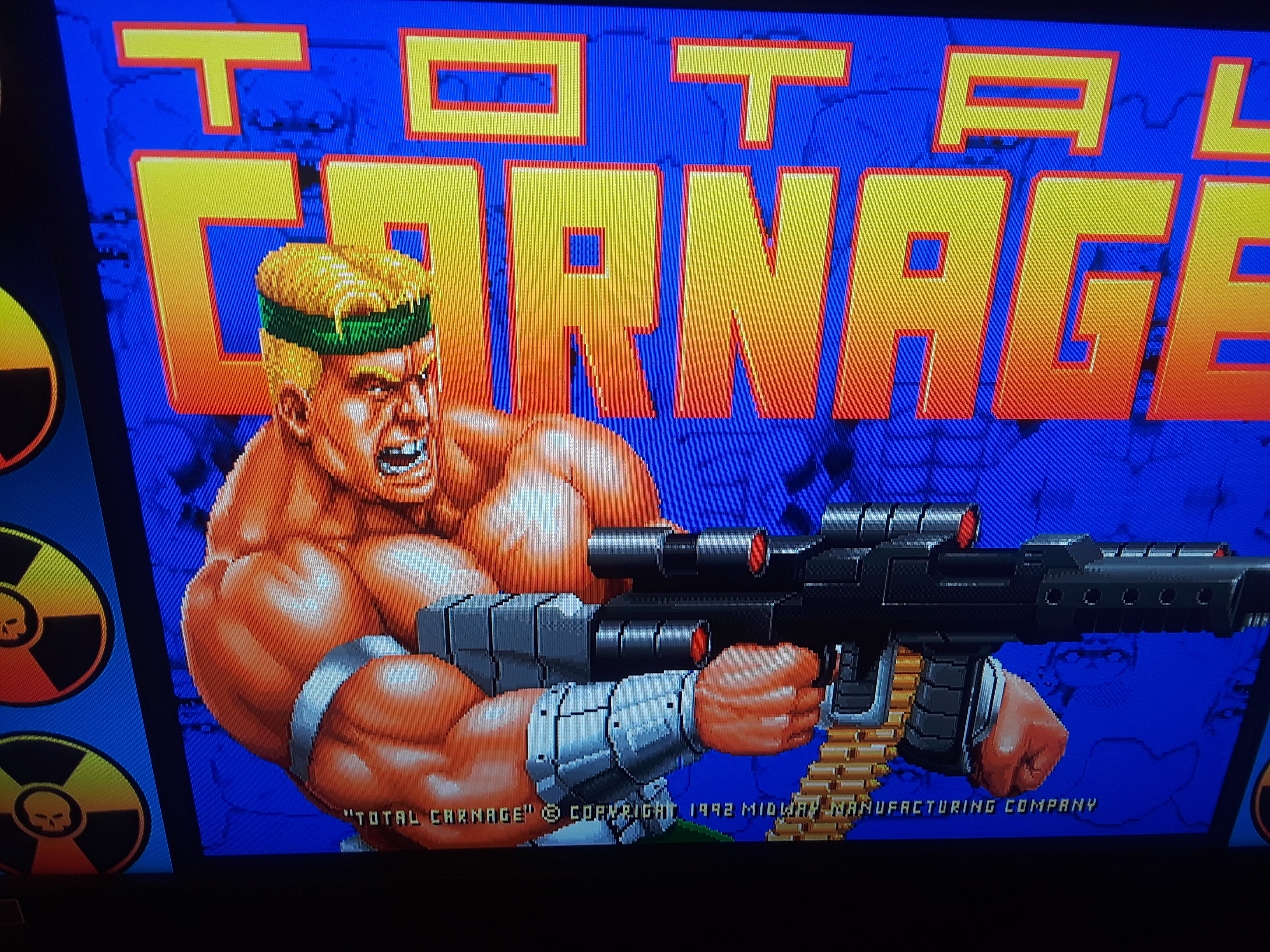 Midway Arcade Origins: Total Carnage 42,363 points