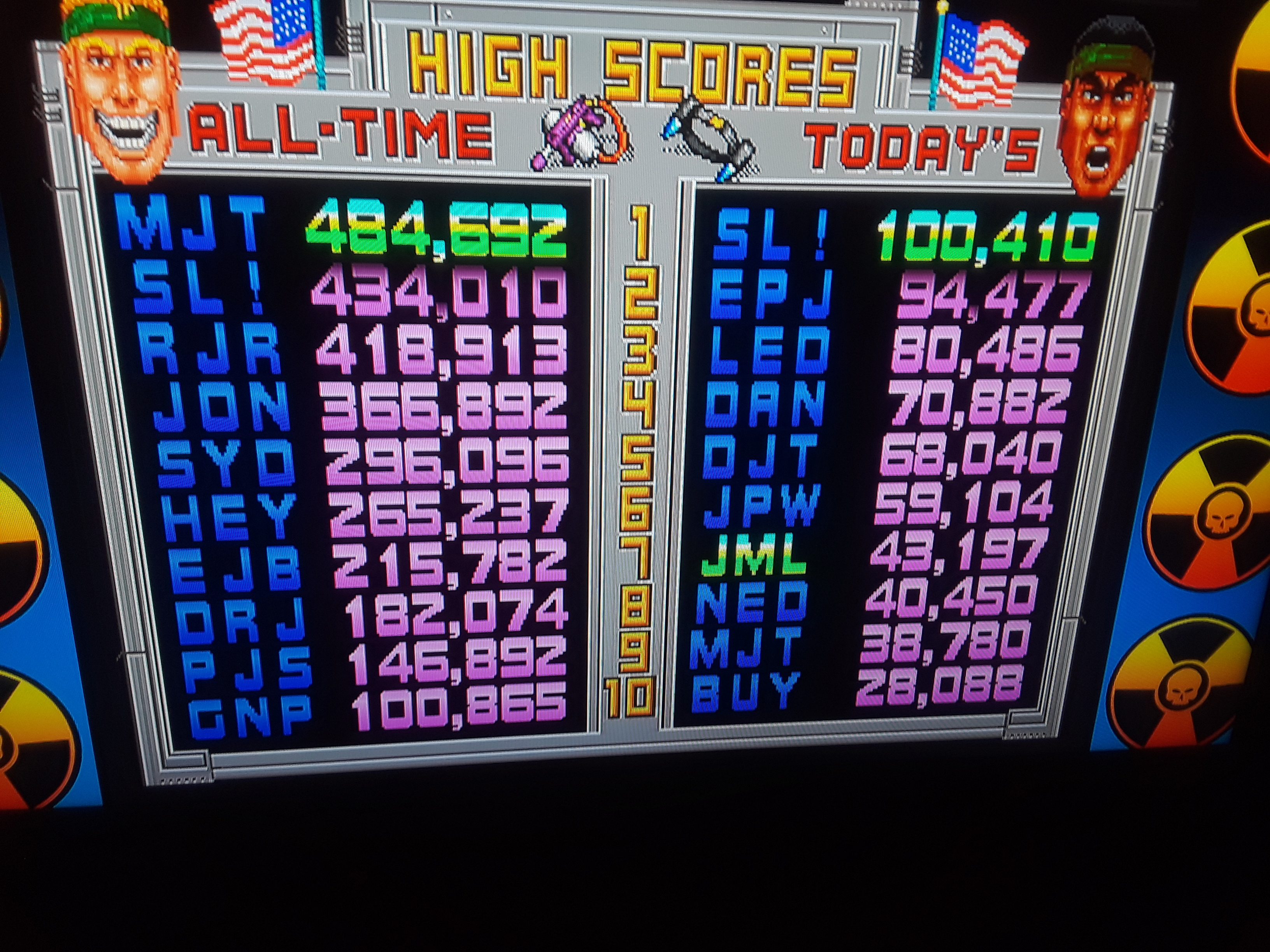 Midway Arcade Origins: Total Carnage 43,197 points