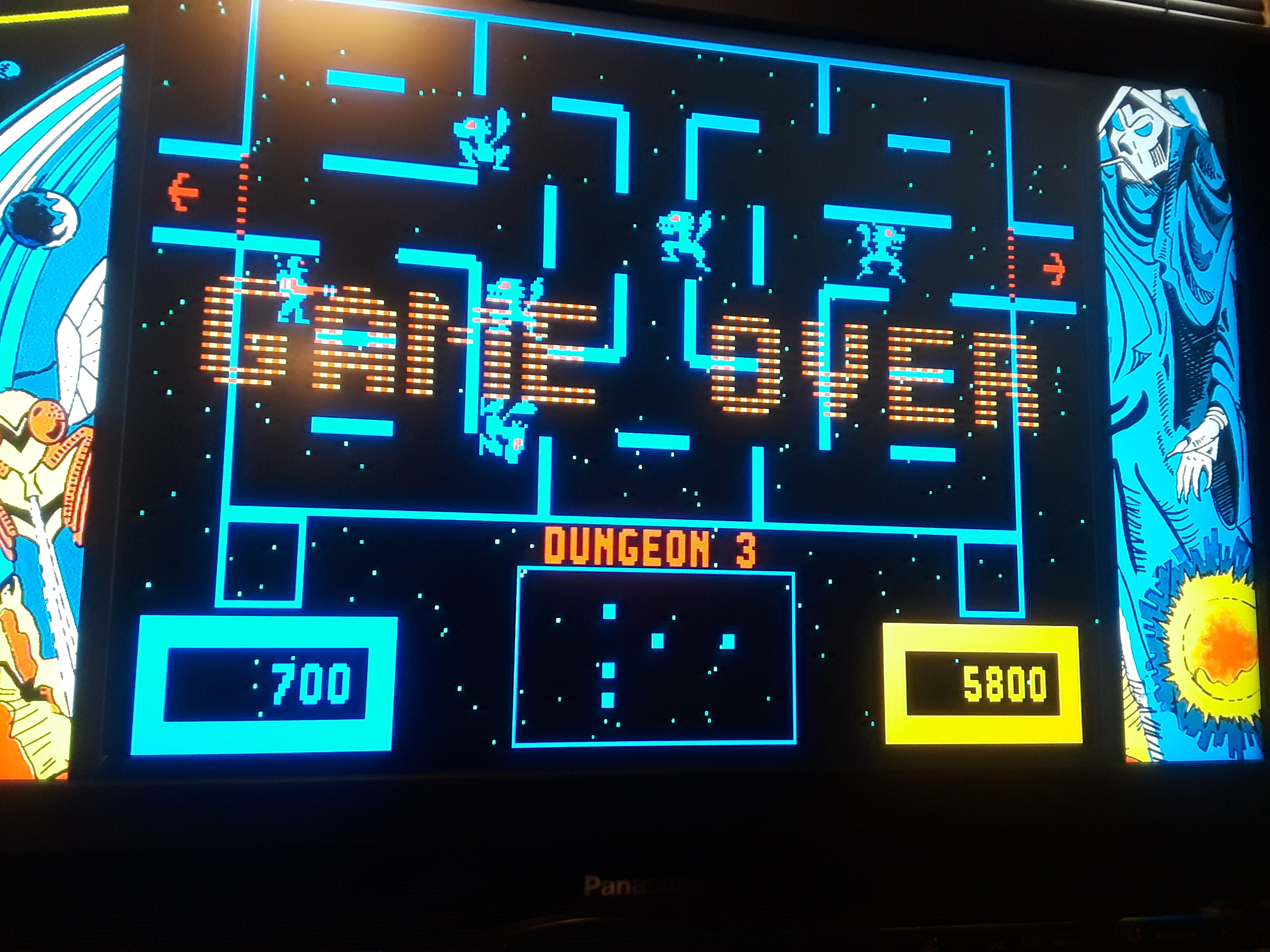 Midway Arcade Origins: Wizard of Wor 5,800 points