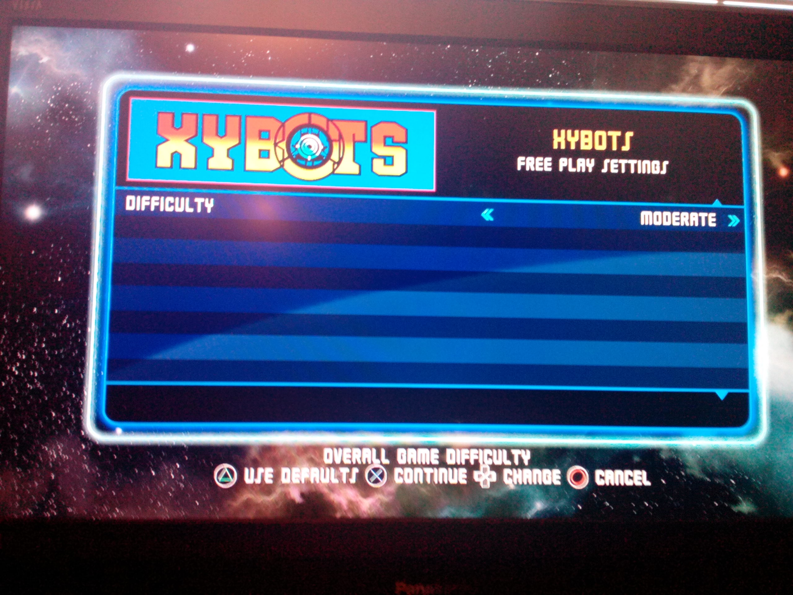 Midway Arcade Origins: Xybots 25,400 points