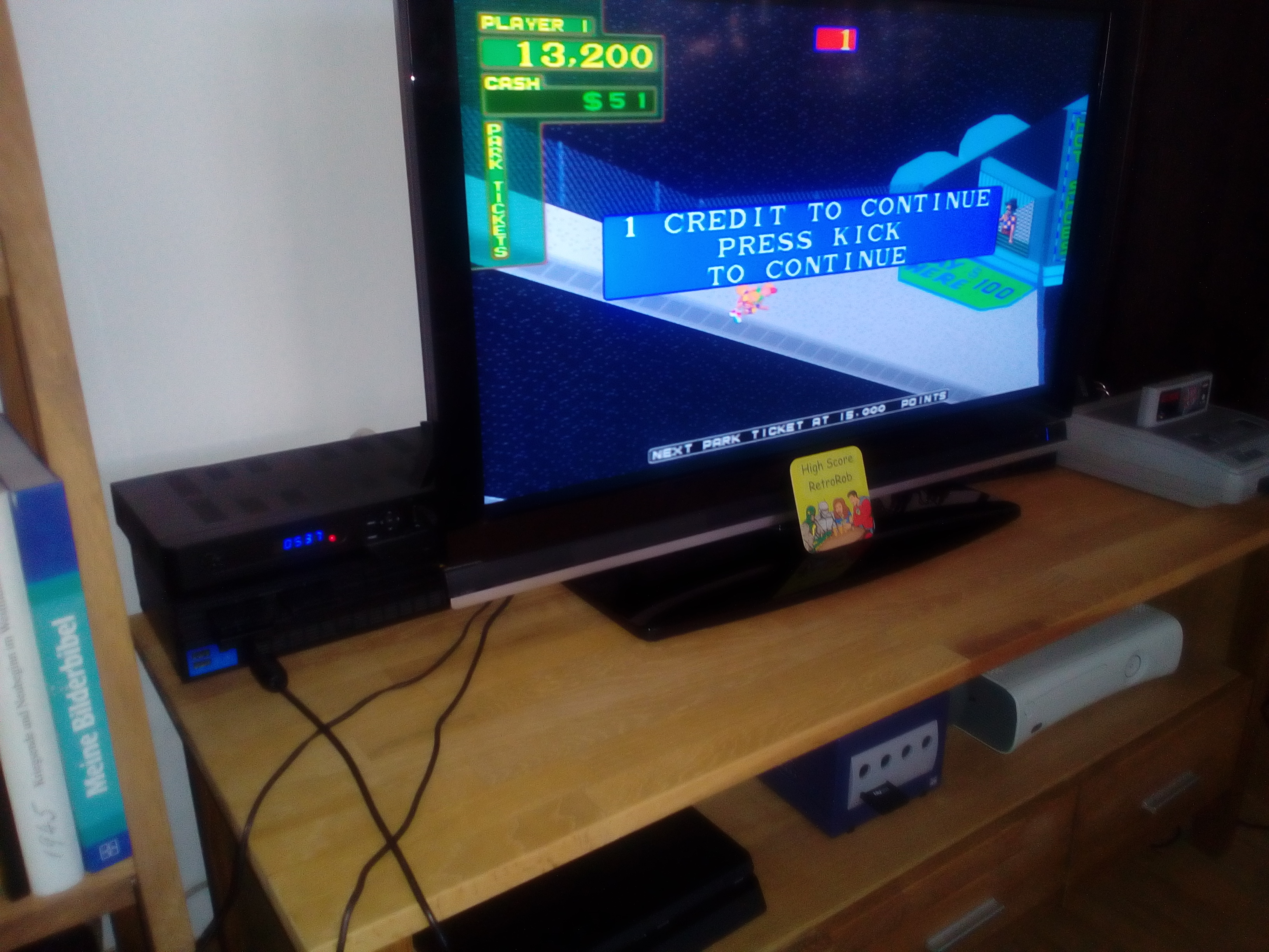 RetroRob: Midway Arcade Treasures: 720 Degrees (Playstation 2) 13,710 points on 2018-05-04 06:04:16