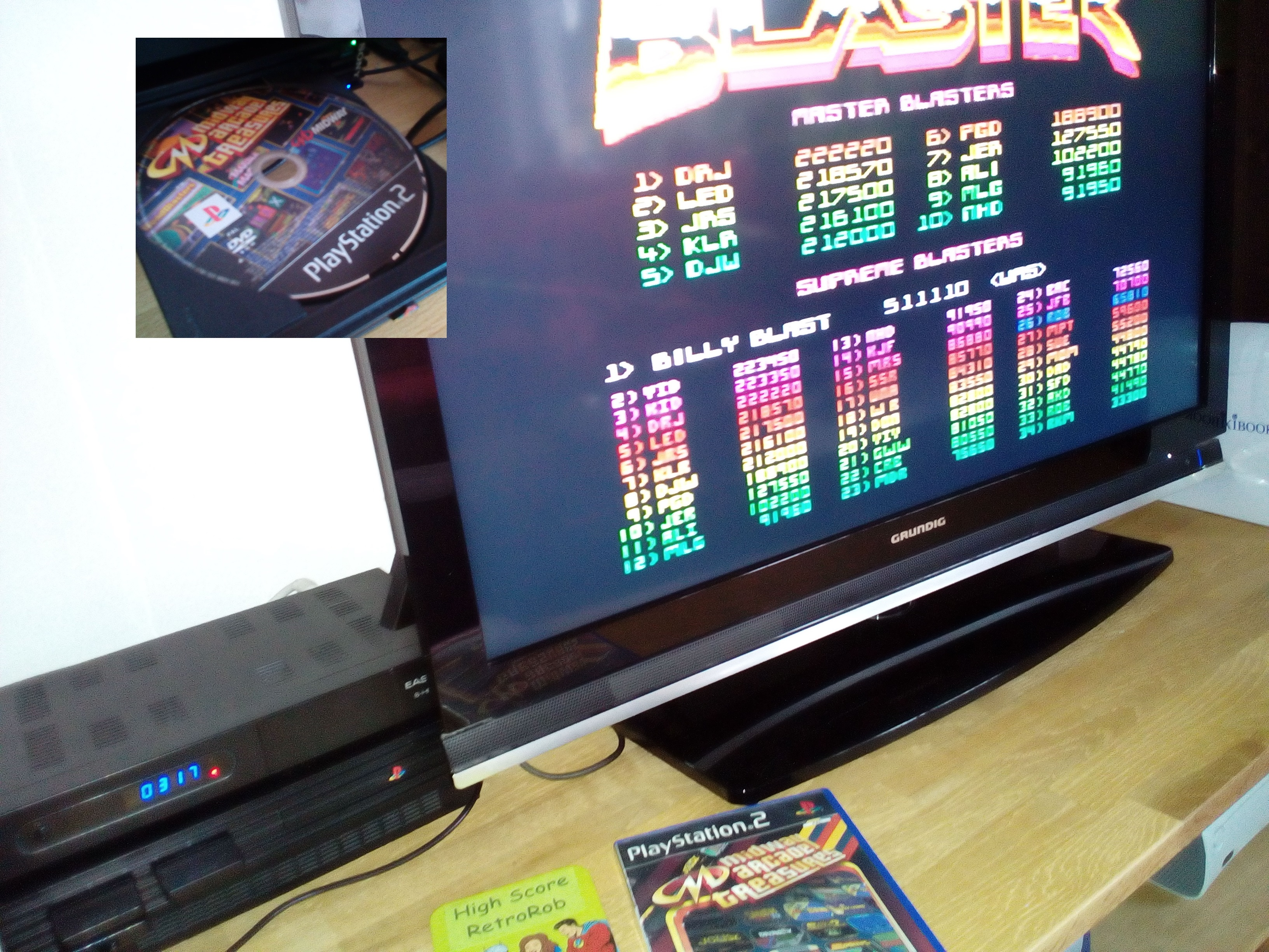 Midway Arcade Treasures: Blaster 65,810 points