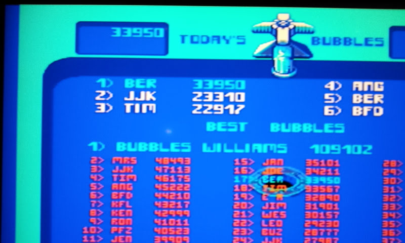 Larquey: Midway Arcade Treasures: Bubbles (Playstation 2) 33,950 points on 2018-01-19 14:21:40