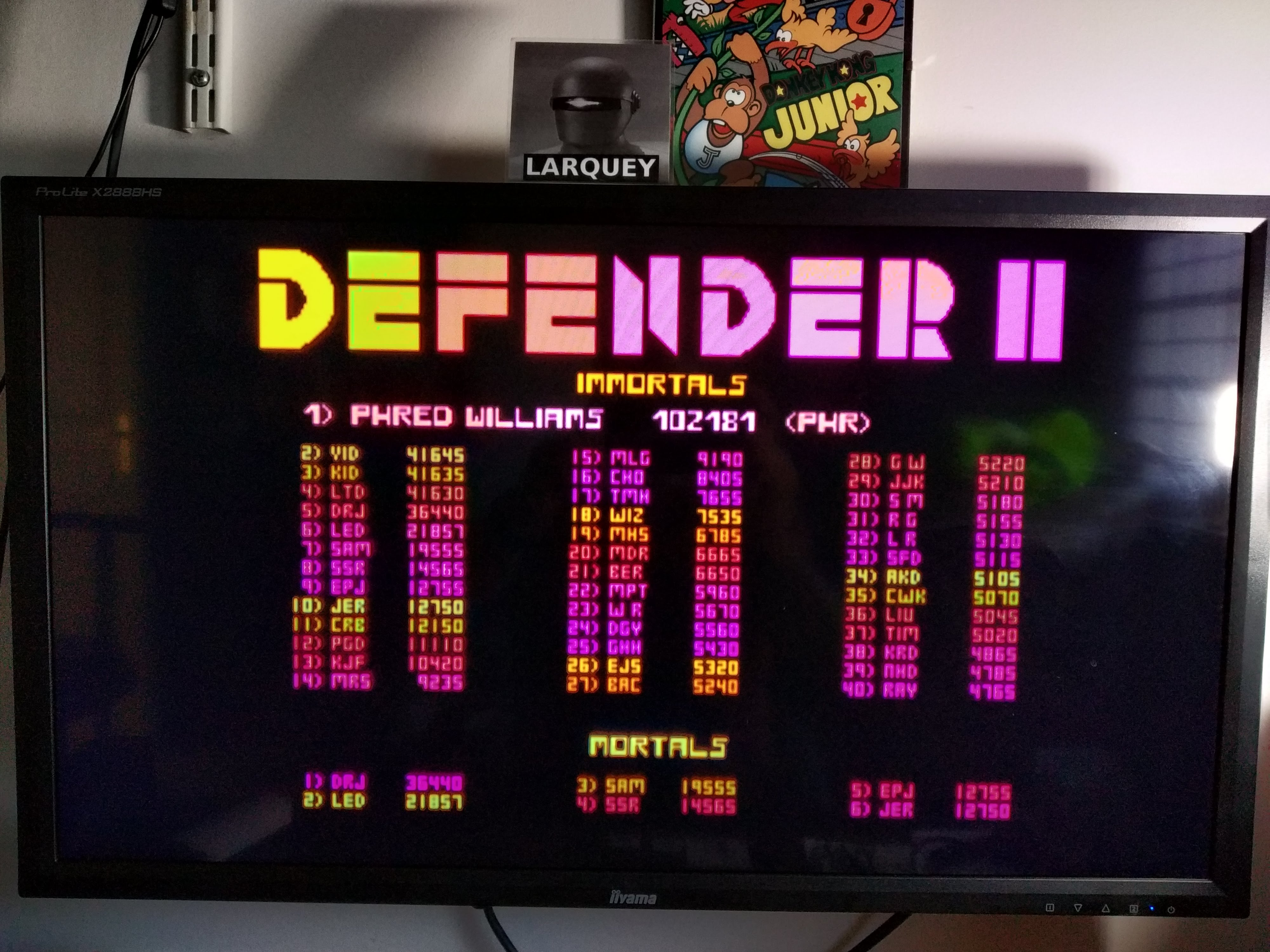 Larquey: Midway Arcade Treasures: Defender II (Playstation 2 Emulated) 6,650 points on 2020-08-02 05:35:56